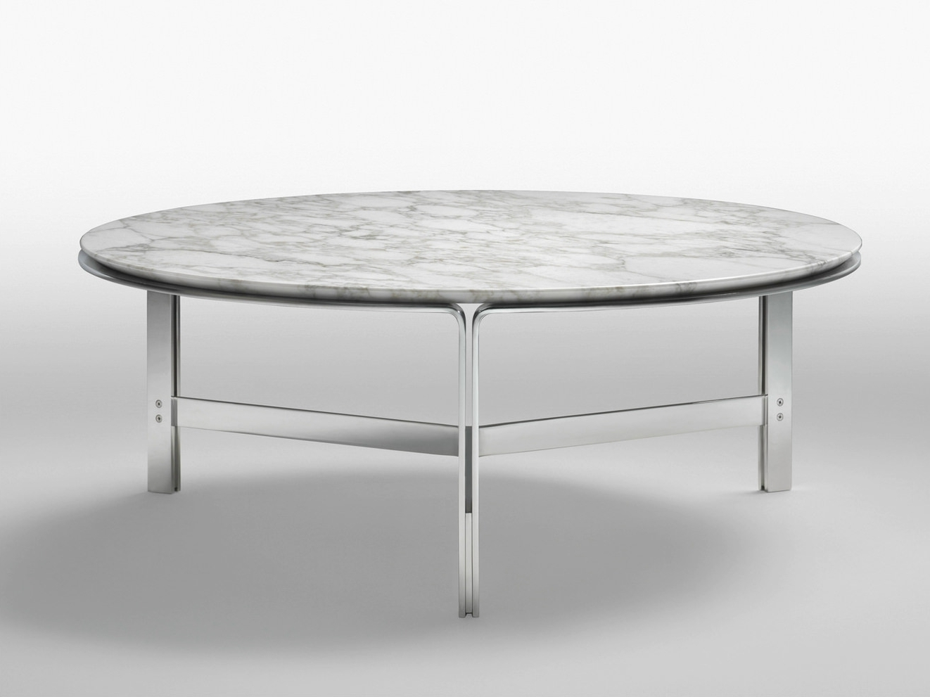 Large Round Marble Coffee Table (View 3 of 20)