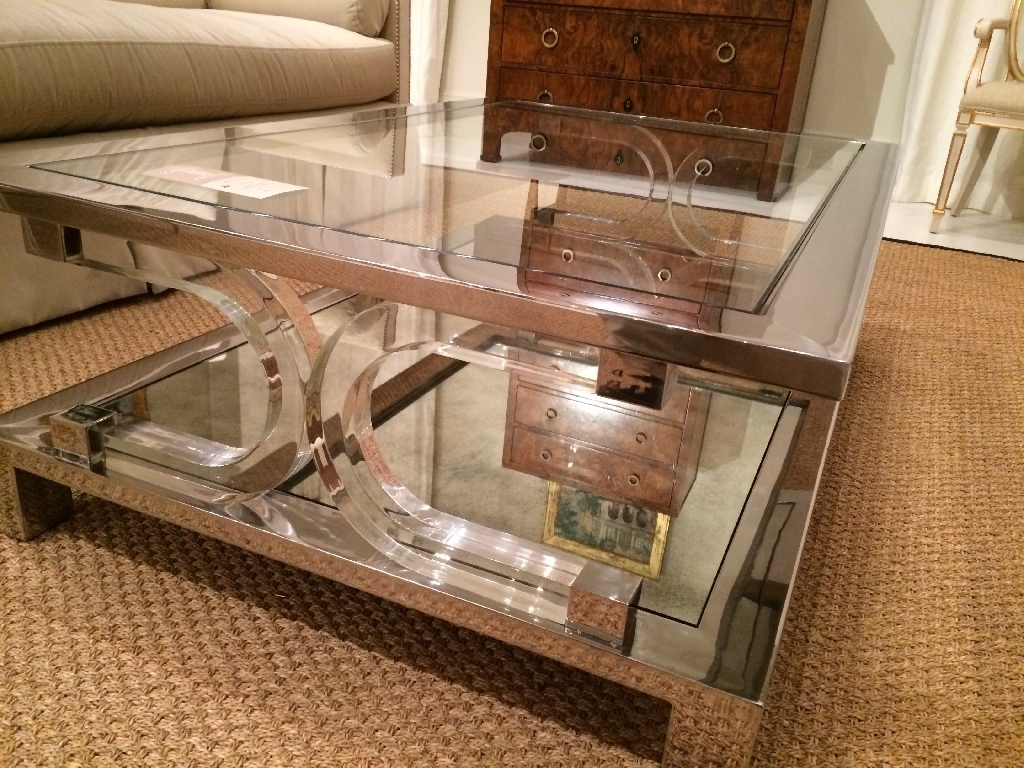 Latest Acrylic Glass And Brass Coffee Tables With Tempered Glass Coffee Table Ideas – Thelightlaughed (View 20 of 20)