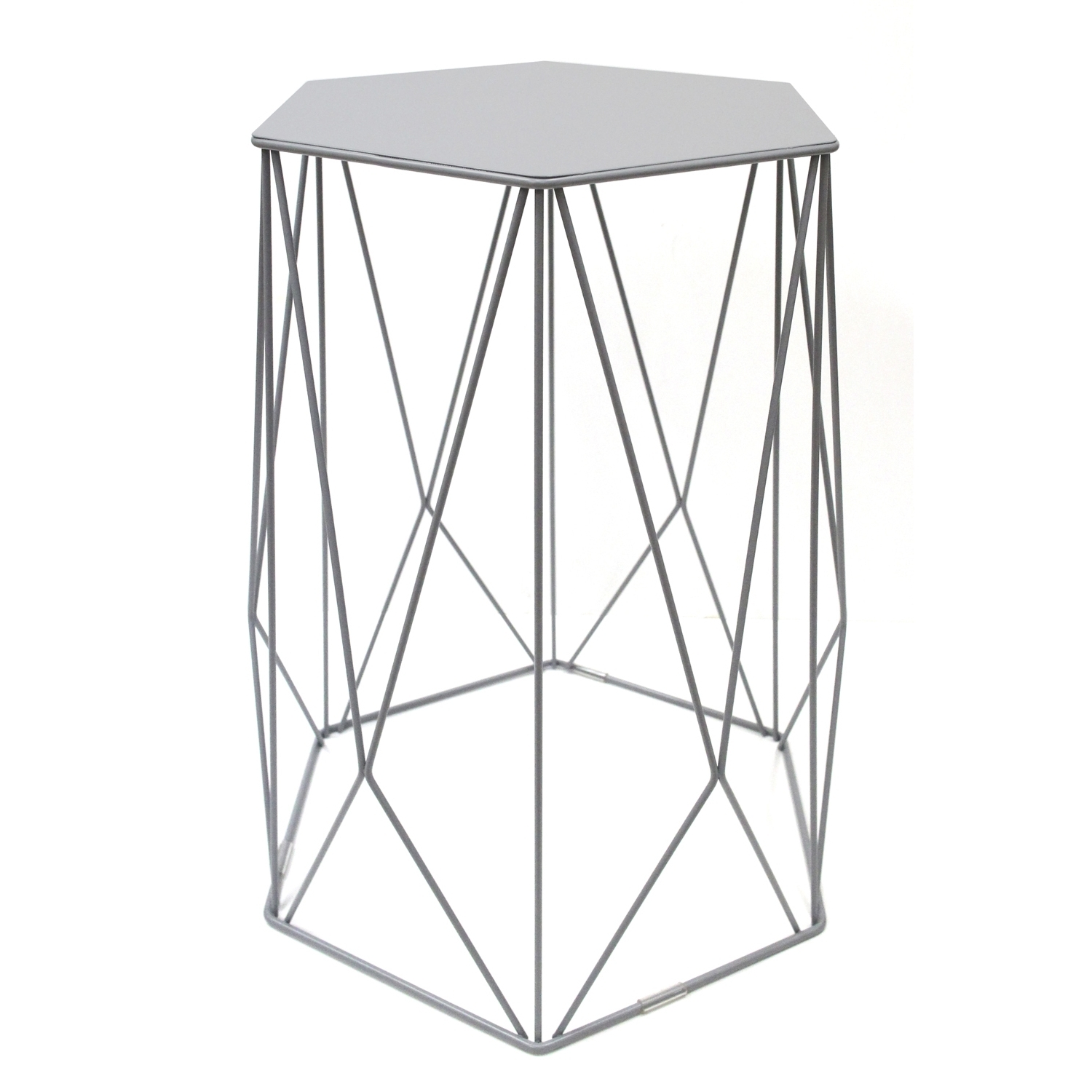Latest Black Wire Coffee Tables In Halo Wire Side Table (View 9 of 20)