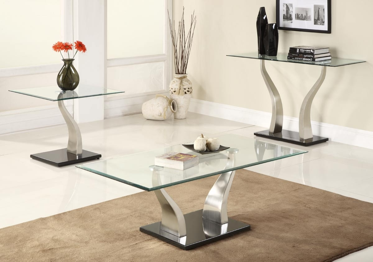 Latest Jonah Lift Top Cocktail Tables Throughout Contemporary Glass Coffee Tables Black Metal — All Contemporary (View 19 of 20)