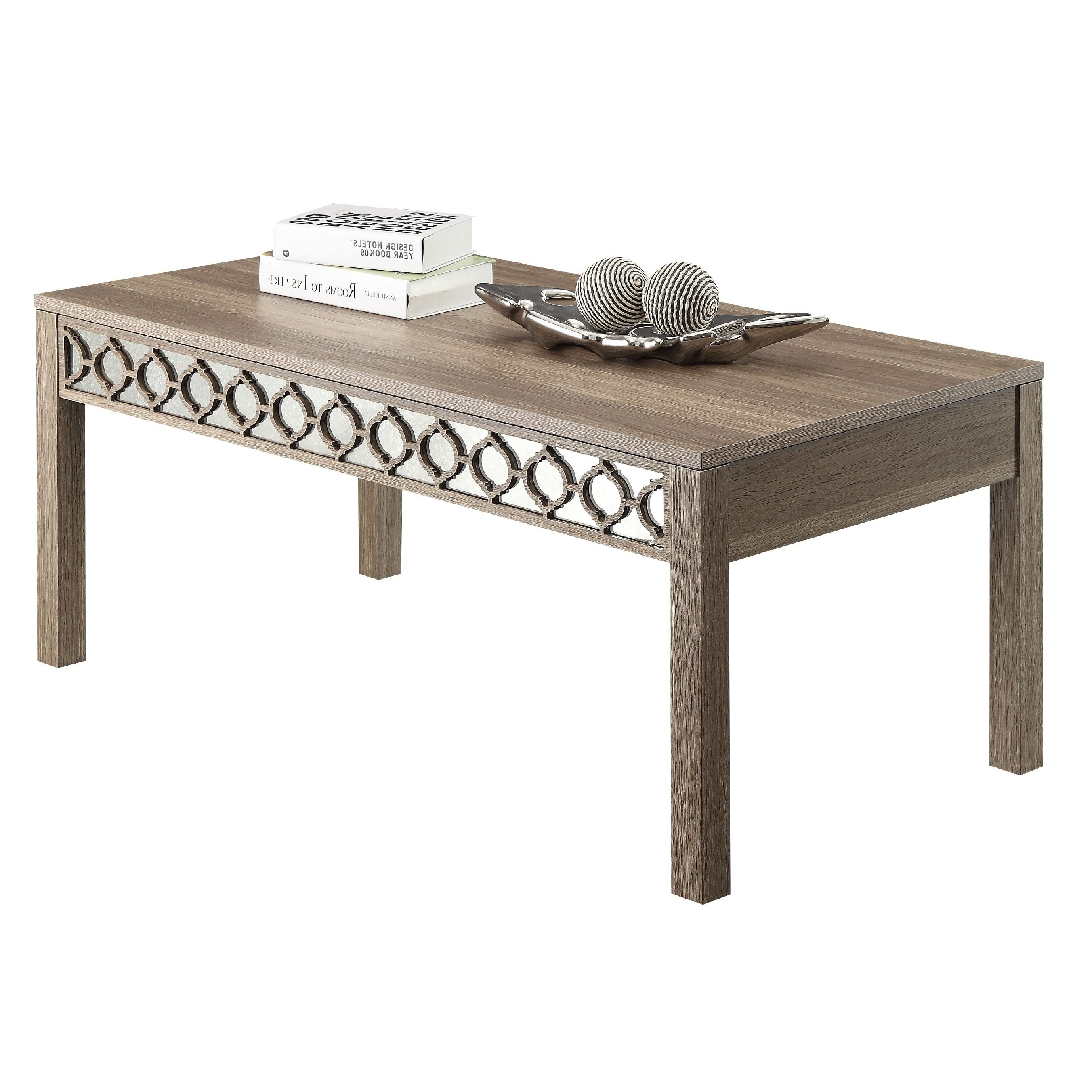 Latest Lassen Square Lift Top Cocktail Tables Throughout Shop Helena Sun Bleached Oak Coffee Table – Free Shipping Today (View 8 of 20)