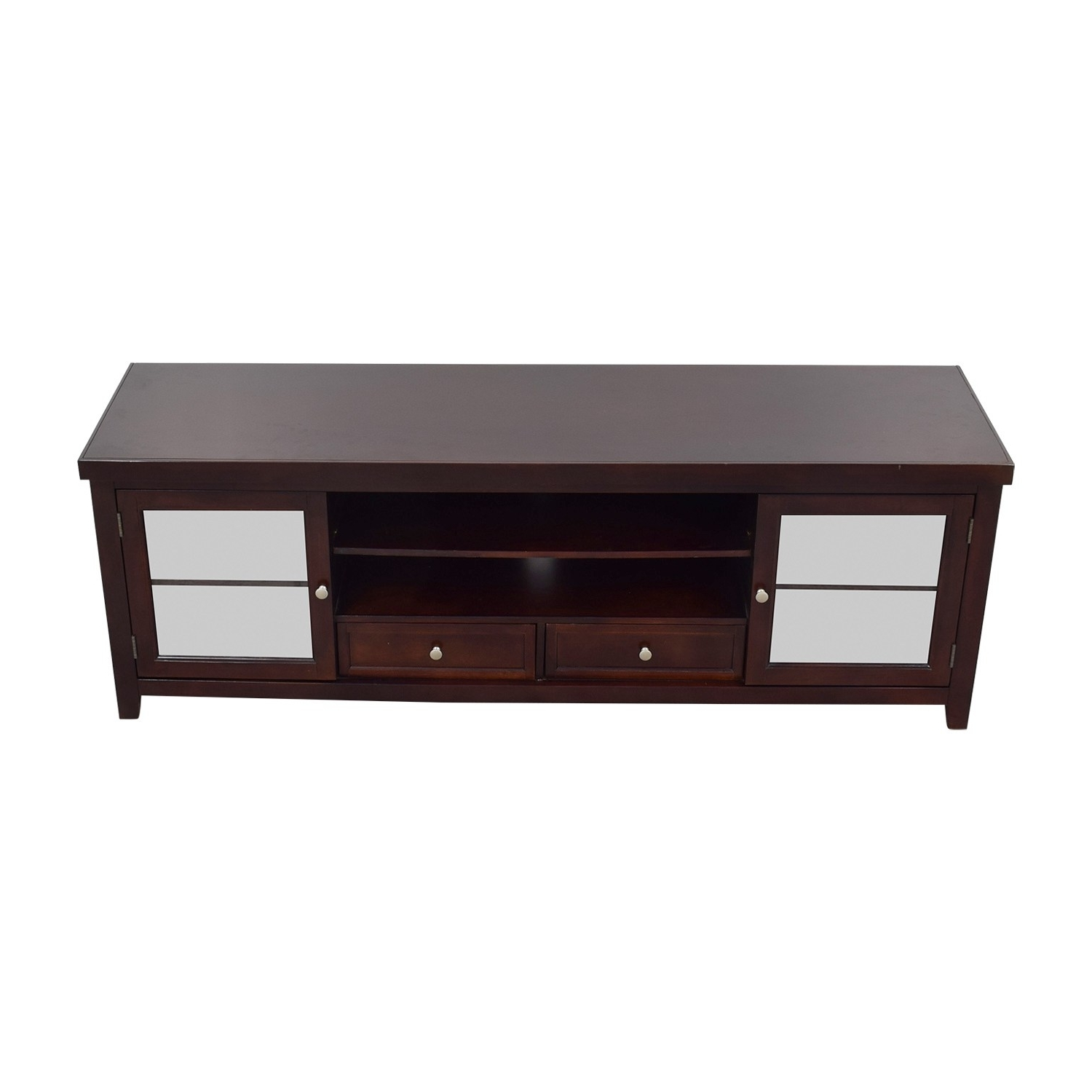 Latest Mountainier Cocktail Tables In Picture Glass Tv Stand Storage Living Spaces Furniture Coffee Table (View 7 of 20)