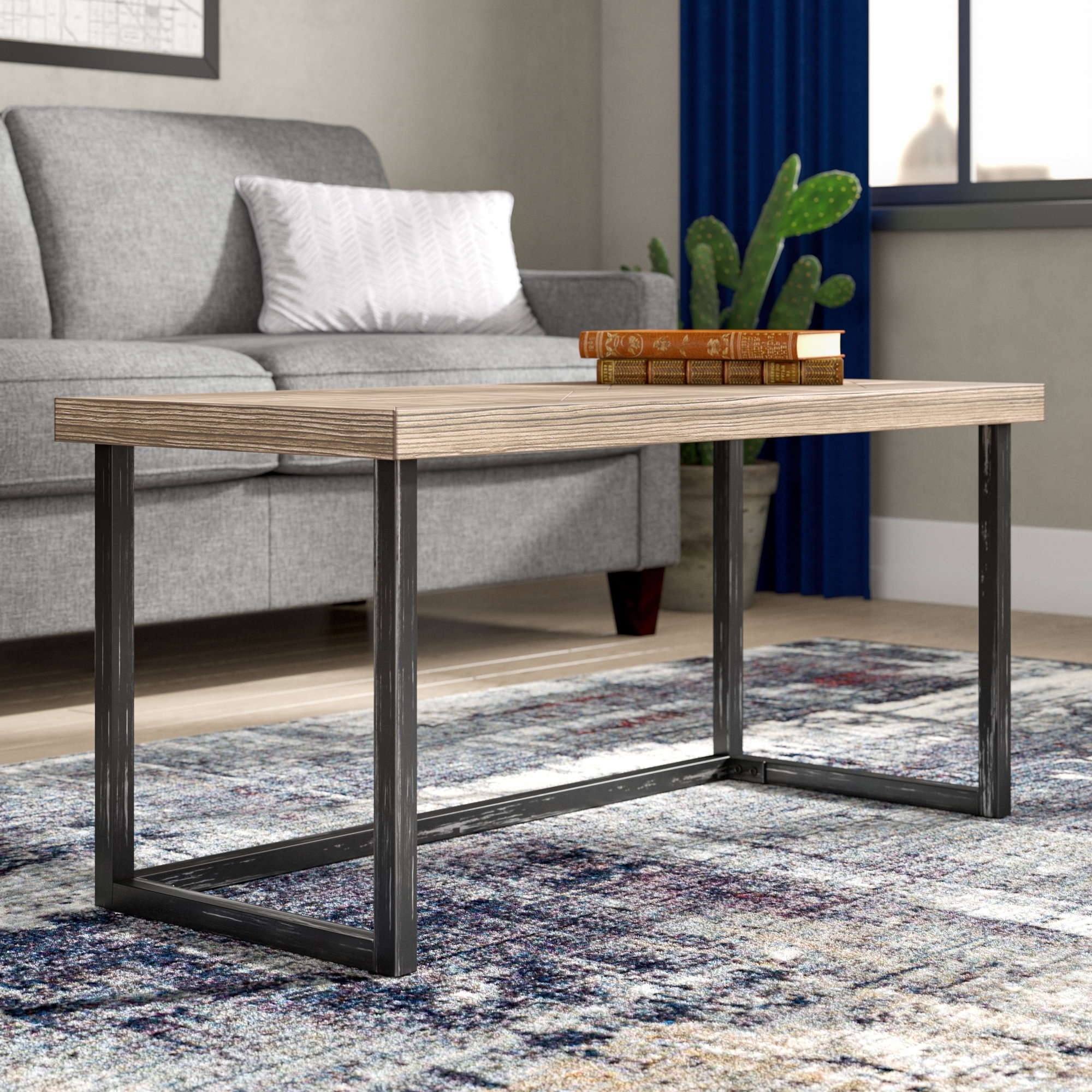 Latest Parquet Coffee Tables With Regard To Adalheid Parquet Coffee Table & Reviews (View 19 of 20)