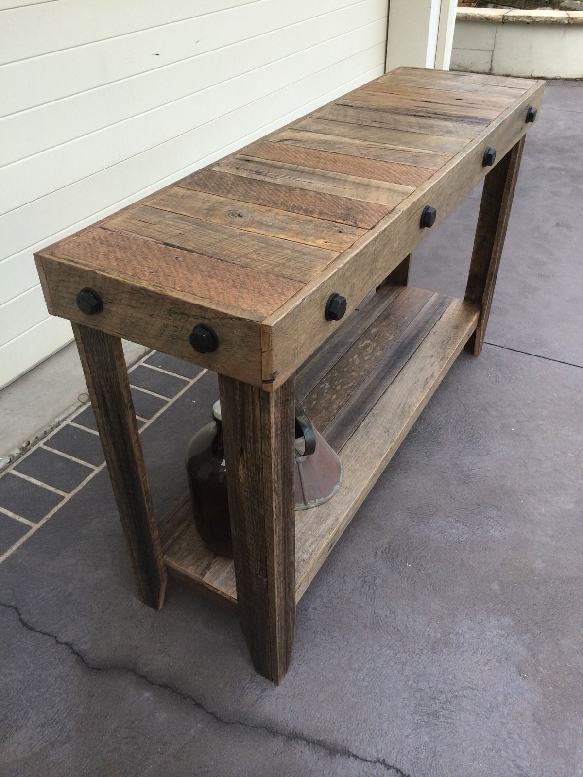 Latest Recycled Pine Stone Side Tables Regarding 41 Entry Table Ideas To Liven Up Your House In Details (View 11 of 20)