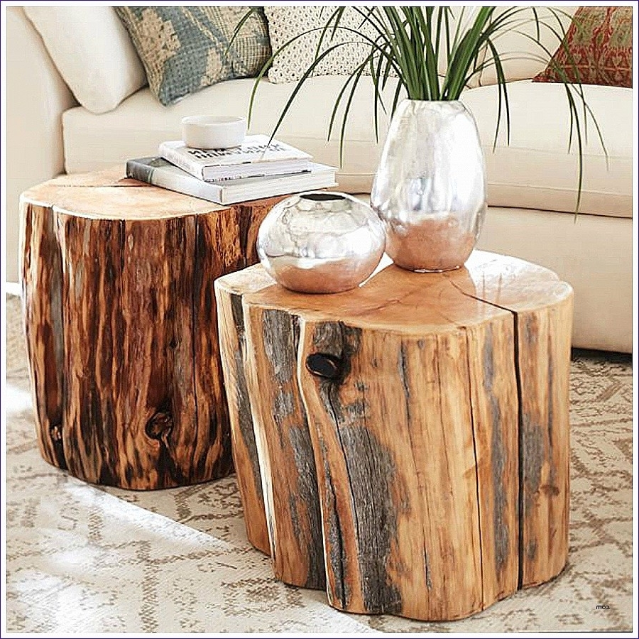 Latest Sliced Trunk Coffee Tables With Regard To Tree Trunk Coffee Table New 1 5 Thick Wood Slices Wood Slices For (View 10 of 20)