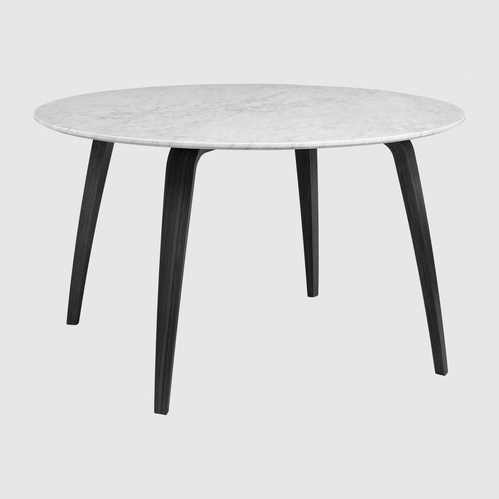 Latest Smart Round Marble Top Coffee Tables Intended For Gubi (View 12 of 20)