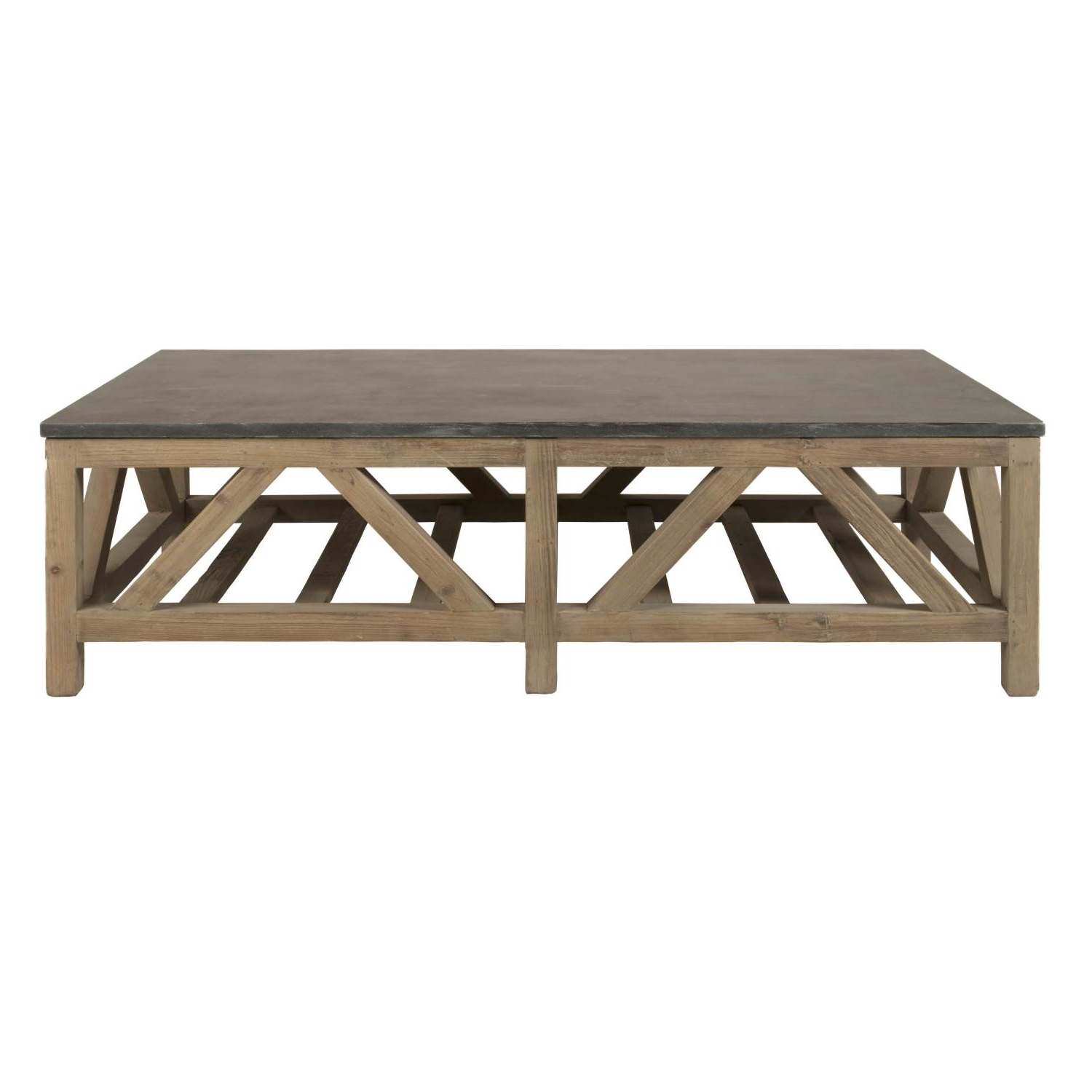 Latest Stone Top Coffee Tables Regarding Blue Stone Coffee Table (View 18 of 20)