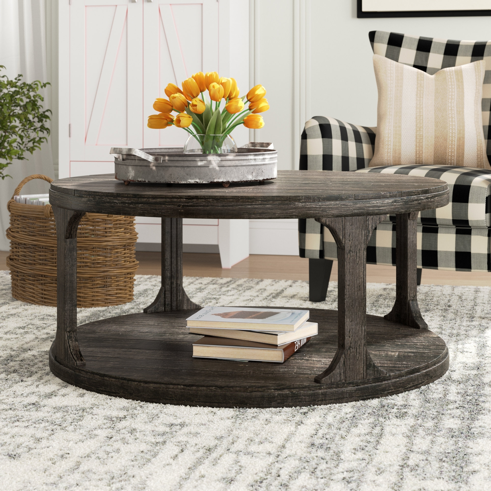 Laurel Foundry Modern Farmhouse Kaitlin Coffee Table (View 12 of 20)