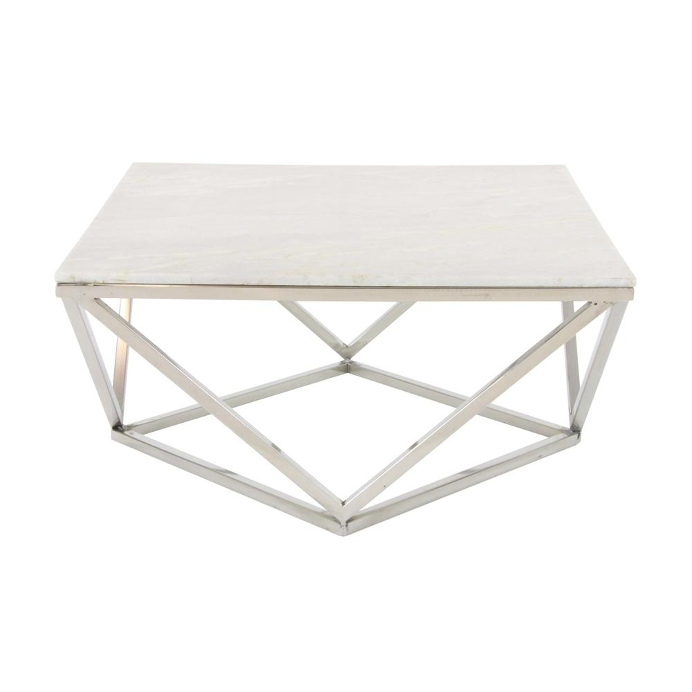 Featured Photo of Modern Marble Iron Coffee Tables