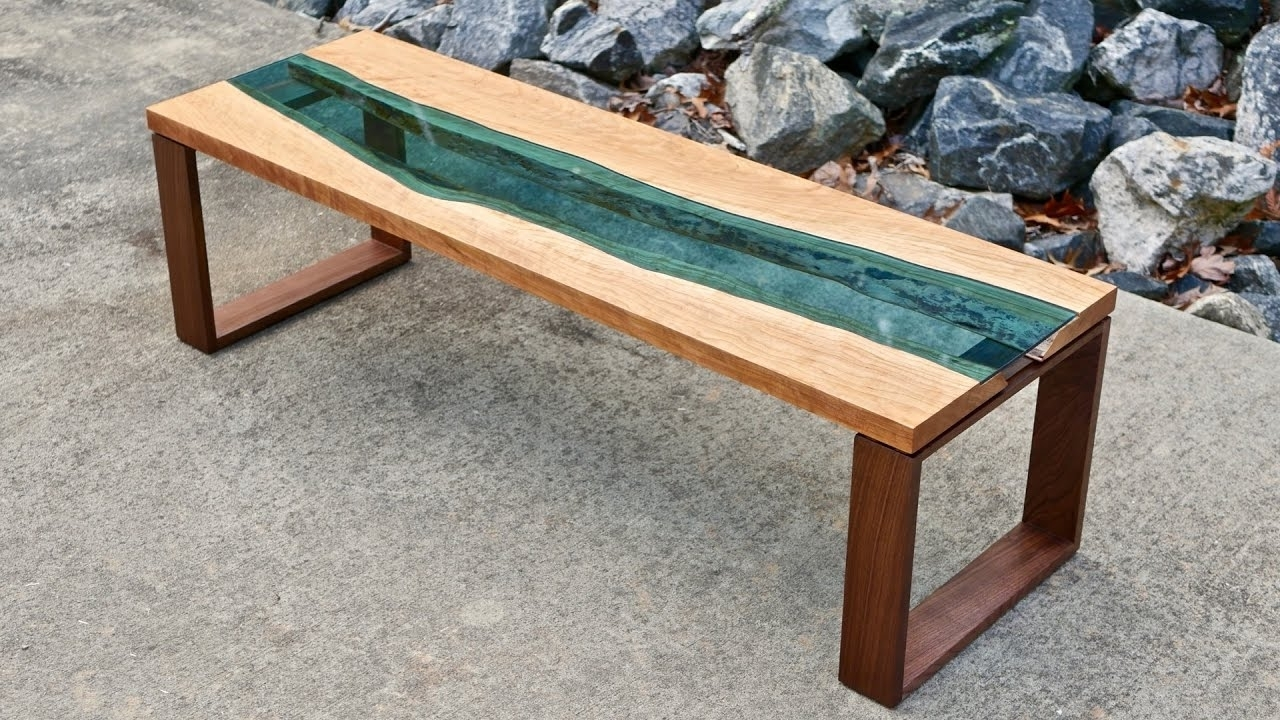 Live Edge River Coffee Table (View 16 of 20)