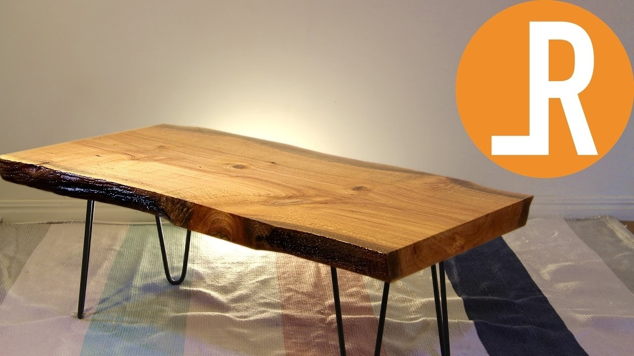 Live Edge Table (View 10 of 20)