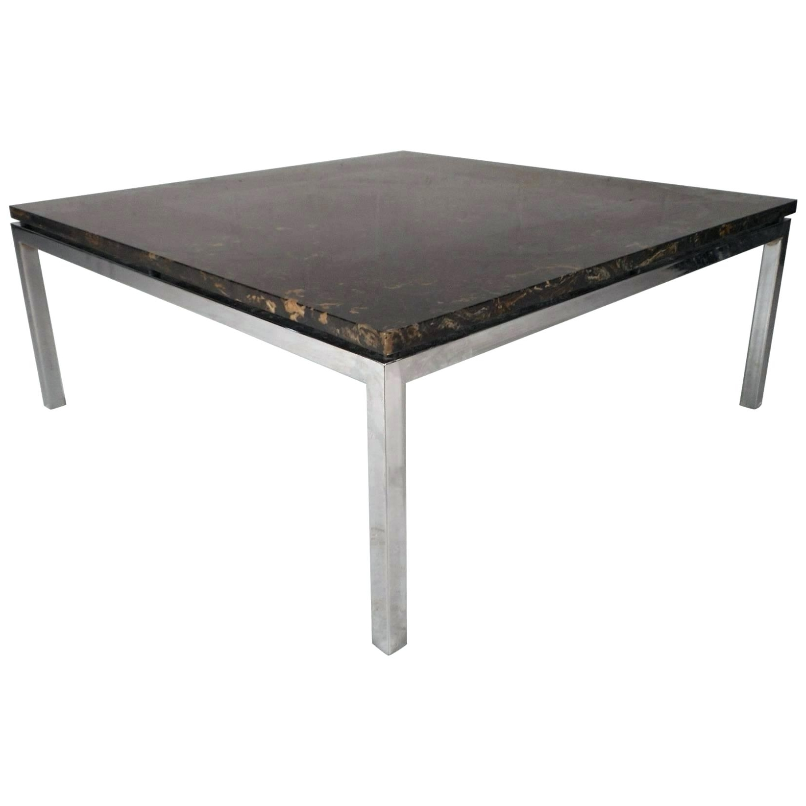 Living Round Mid Century Modern Marble Coffee Table Glass Top In Most Recently Released Mid Century Modern Marble Coffee Tables (View 6 of 20)