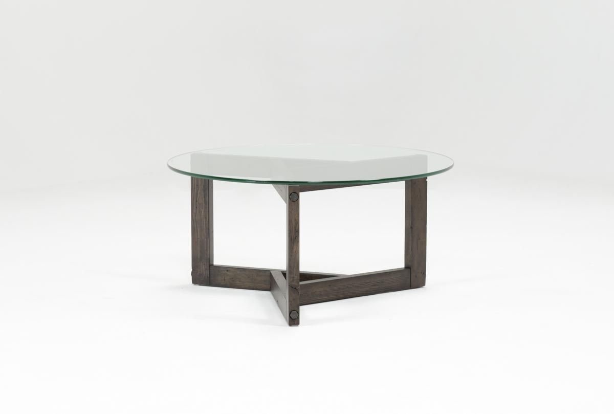 Living Spaces Intended For Popular Torrin Round Cocktail Tables (View 12 of 20)