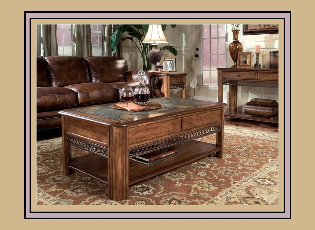 Madison Coffee Table Set – Underhills Throughout Well Liked Grant Lift Top Cocktail Tables With Casters (View 10 of 20)