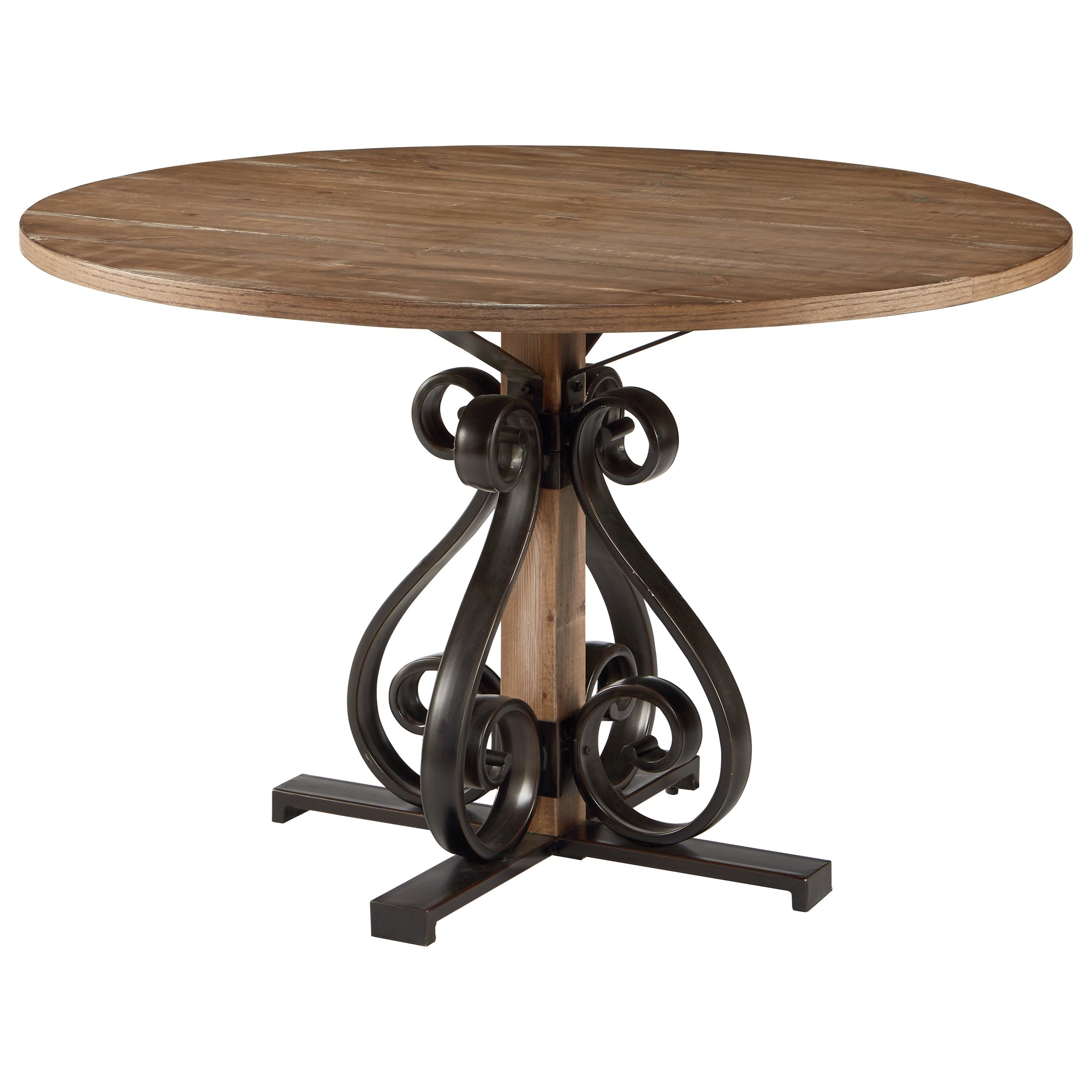 Magnolia Homejoanna Gaines French Insipired 3010601S Round With Most Up To Date Magnolia Home Ellipse Cocktail Tables By Joanna Gaines (View 9 of 20)