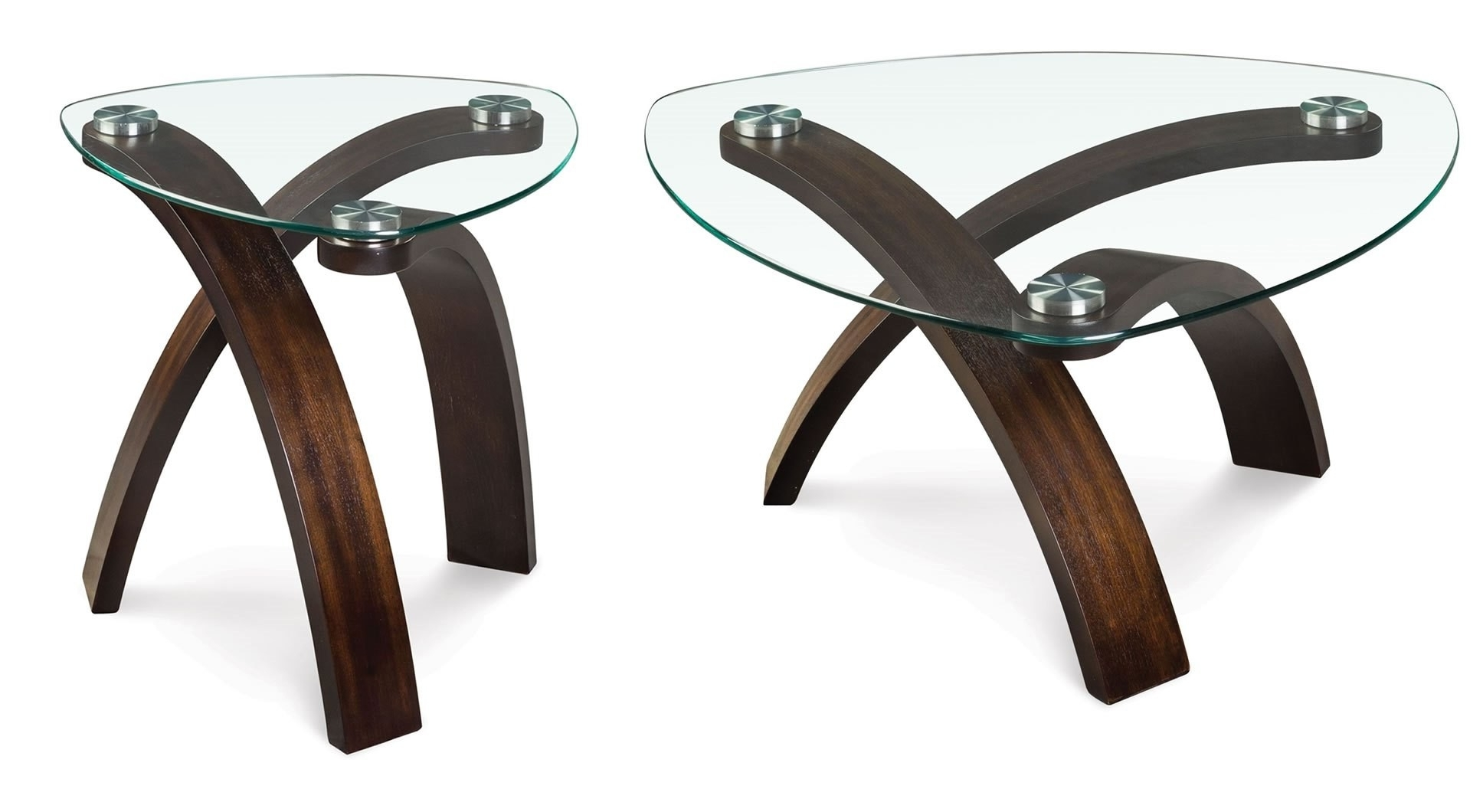 Magnussen Allure Pie Shaped Cocktail Table – Allure Collection: 1 Regarding Widely Used Allure Cocktail Tables (View 11 of 20)