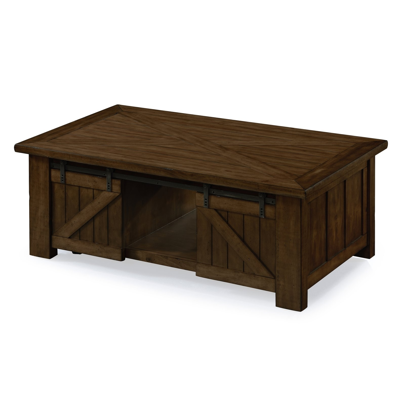 Magnussen Fraser Rectangular Cocktail Table With Casters – Walmart Pertaining To 2018 Ontario Cocktail Tables With Casters (View 7 of 20)