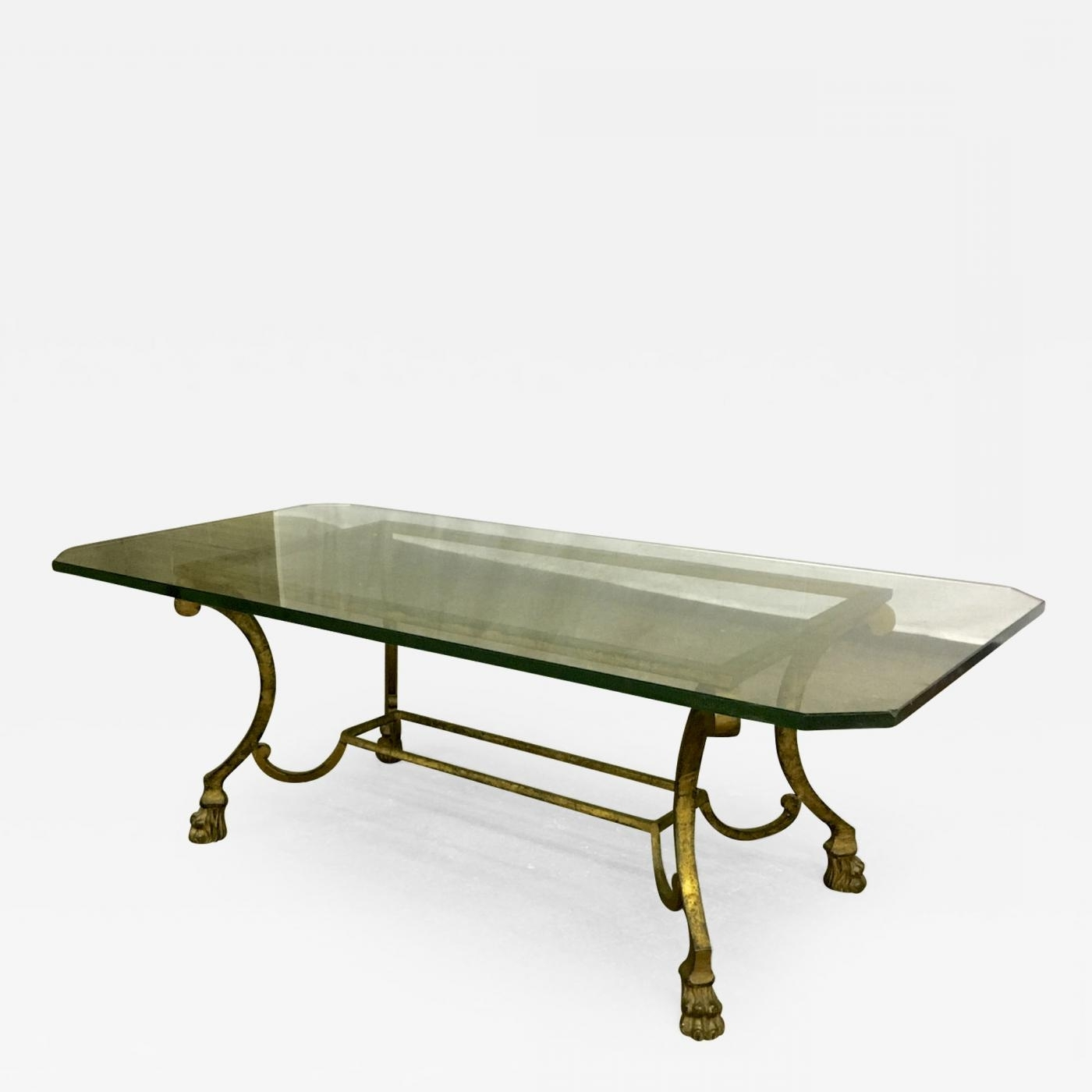 Maison Ramsay – Maison Ramsay Rarest Lion Legs Gold Leaf Wrought For 2017 Gold Leaf Collection Coffee Tables (View 5 of 20)