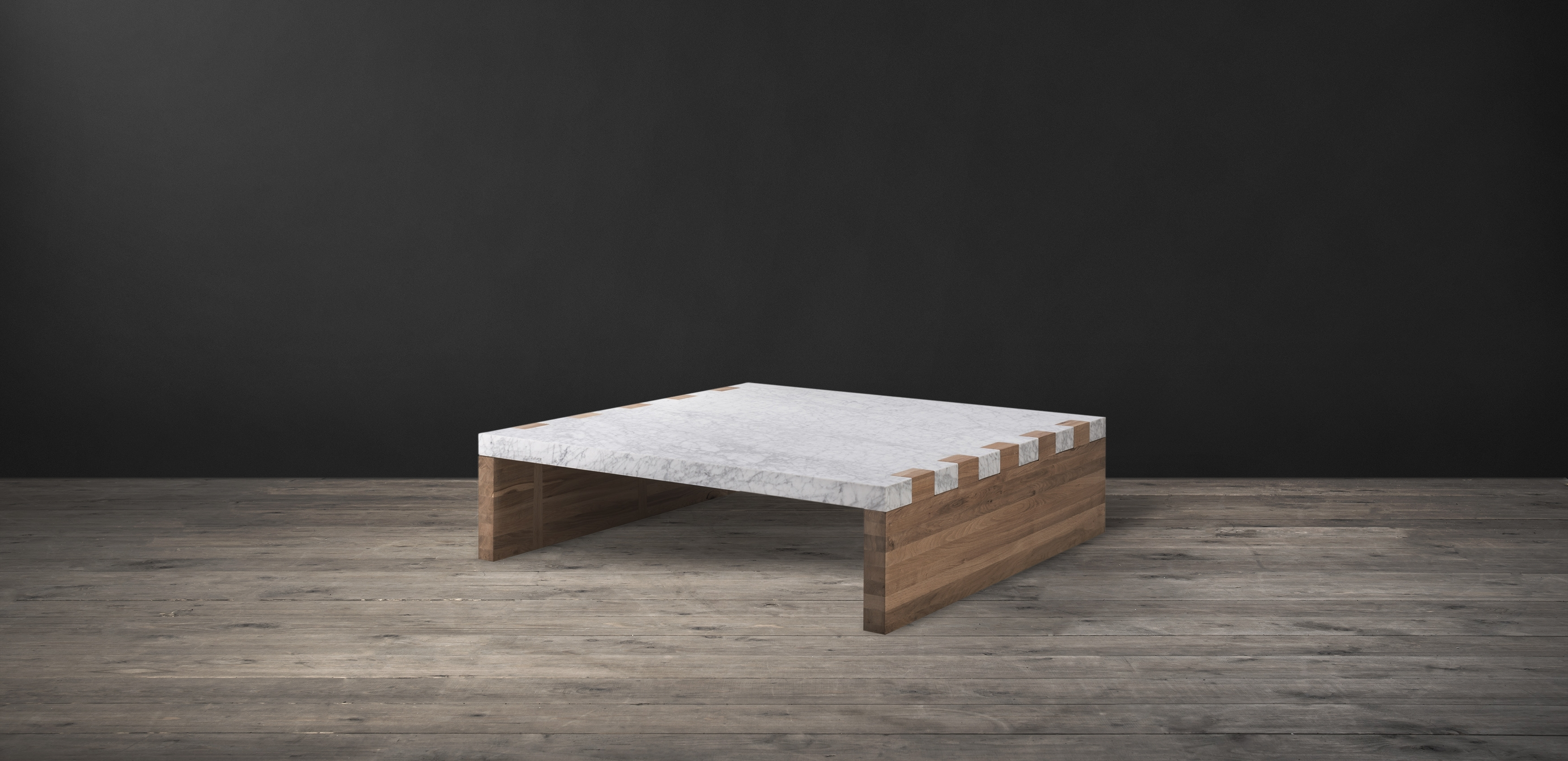 Marble And Wood Coffee Tables – Damabianca With Regard To Most Popular Suspend Ii Marble And Wood Coffee Tables (View 11 of 20)