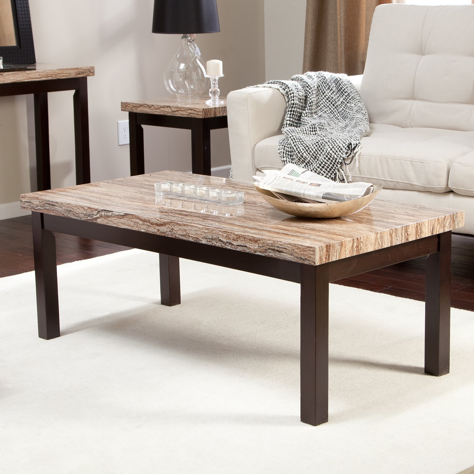 Marble Coffee Table – Coffee Table Ideas Within Popular Alcide Rectangular Marble Coffee Tables (View 4 of 20)