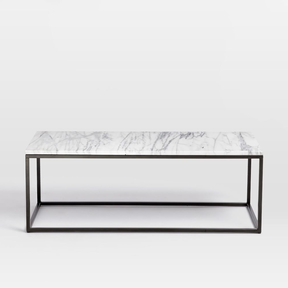 Marble Coffee Table West Elm – Marble Coffee Table: Elegant Table To Pertaining To Popular Slab Small Marble Coffee Tables With Antiqued Silver Base (View 7 of 20)