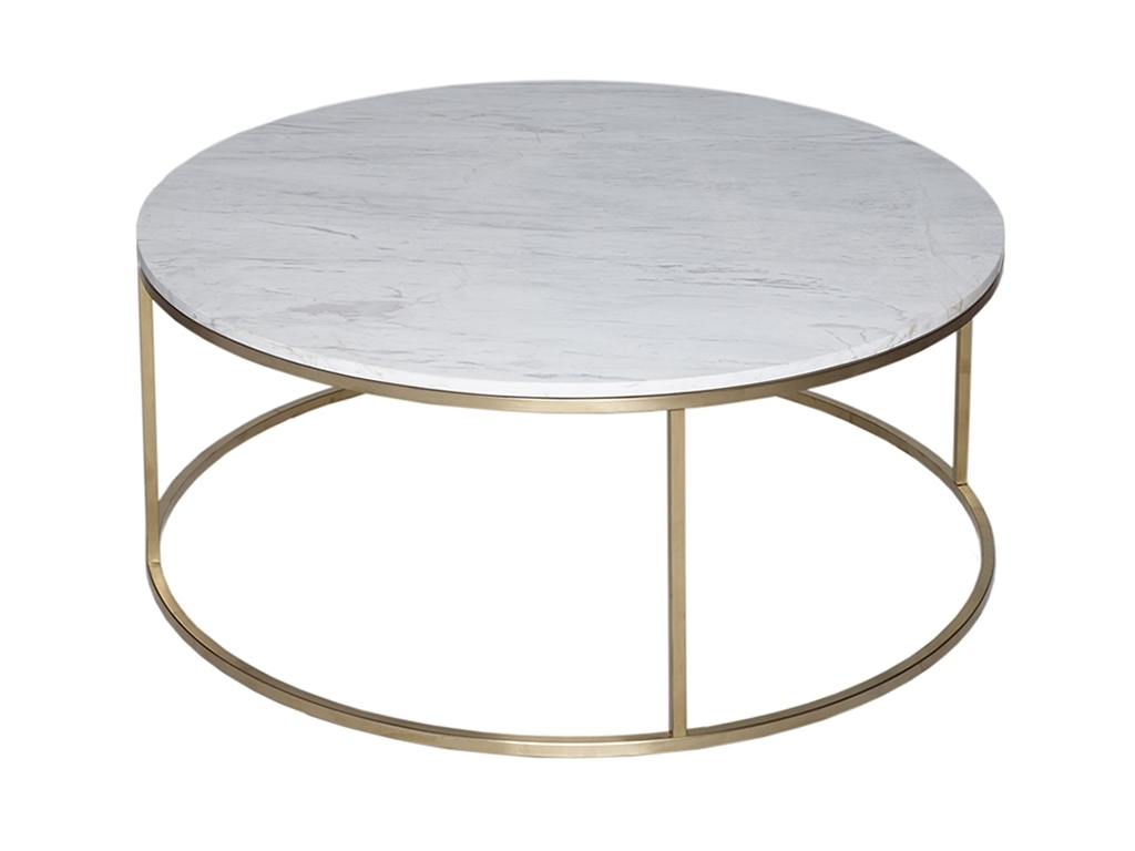 Marble Round Coffee Table – Writehookstudio With Regard To Favorite Smart Round Marble Brass Coffee Tables (View 16 of 20)