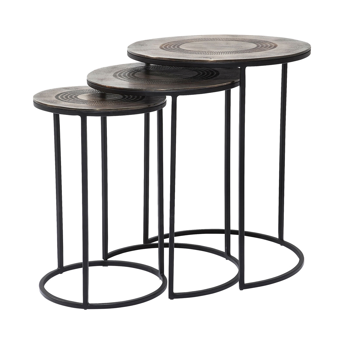 Marrakesh Side Table (3/set) • Woo  (View 9 of 20)