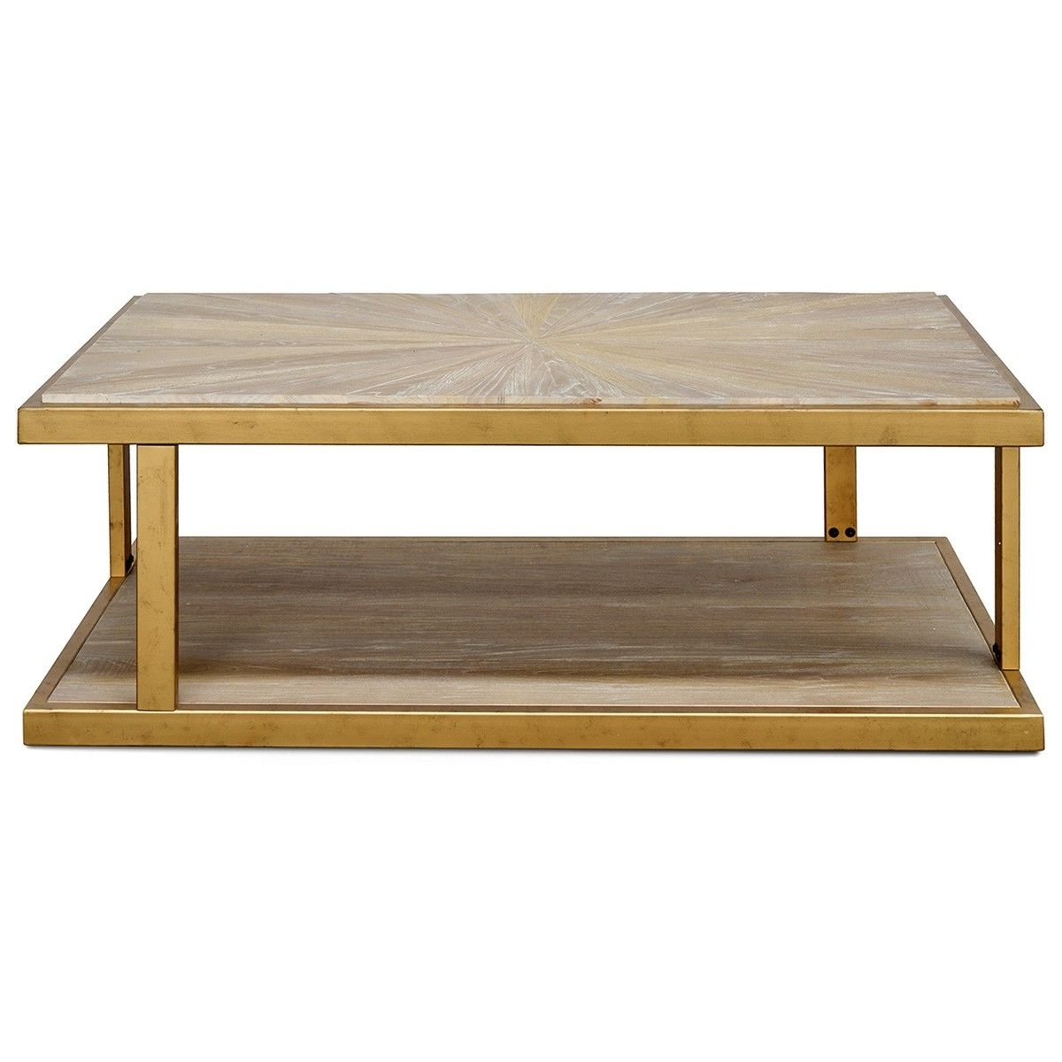 Melina Reclaimed Elm Timber & Iron Coffee Table, 130Cm Regarding Well Known Reclaimed Elm Iron Coffee Tables (View 10 of 20)