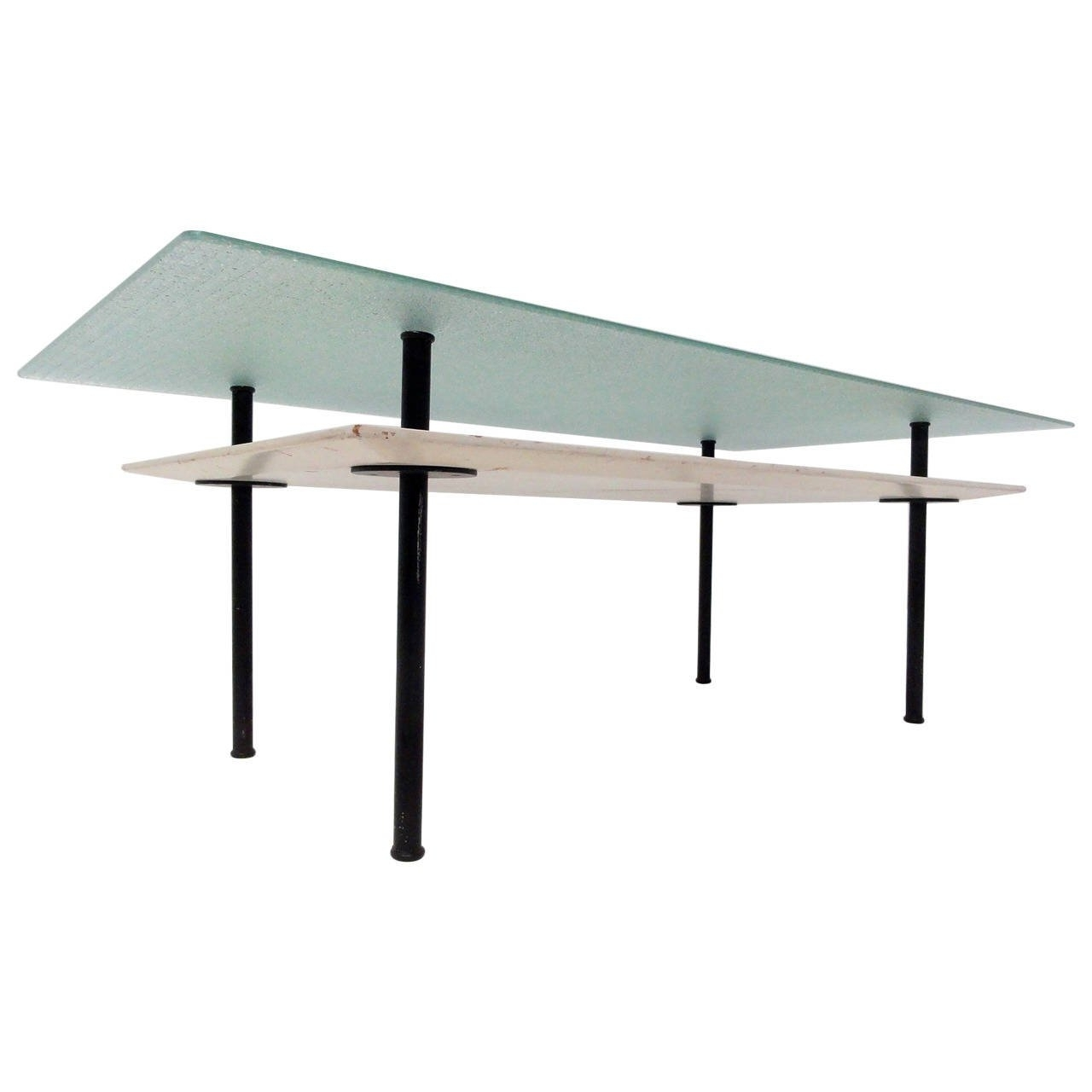Minimalist Dutch Concrete And Glass Coffee Table At 1Stdibs Pertaining To Well Liked Minimalist Coffee Tables (View 9 of 20)