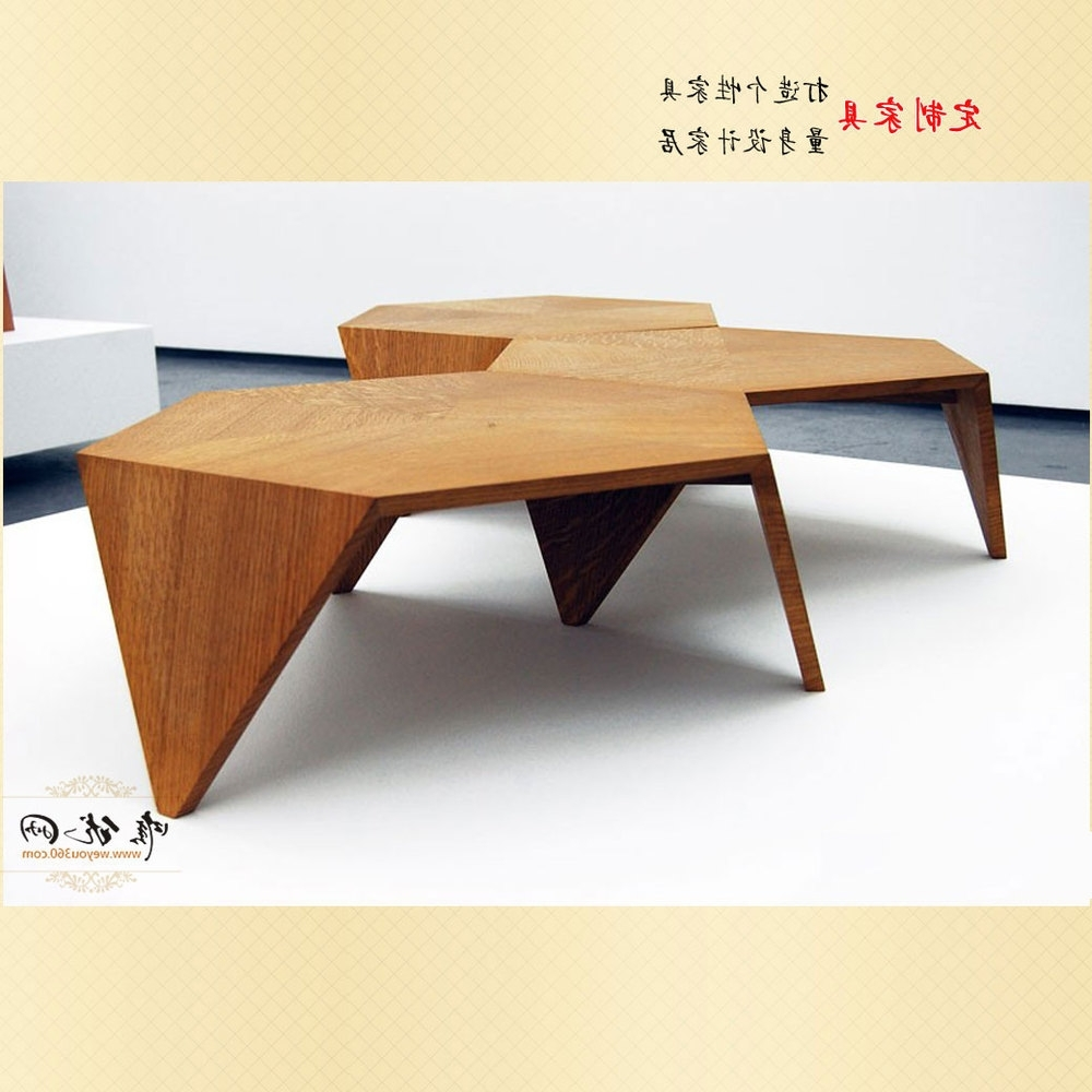 Modern Creative Japanese Designer Furniture, Coffee Table Minimalist With Regard To 2017 Minimalist Coffee Tables (View 12 of 20)