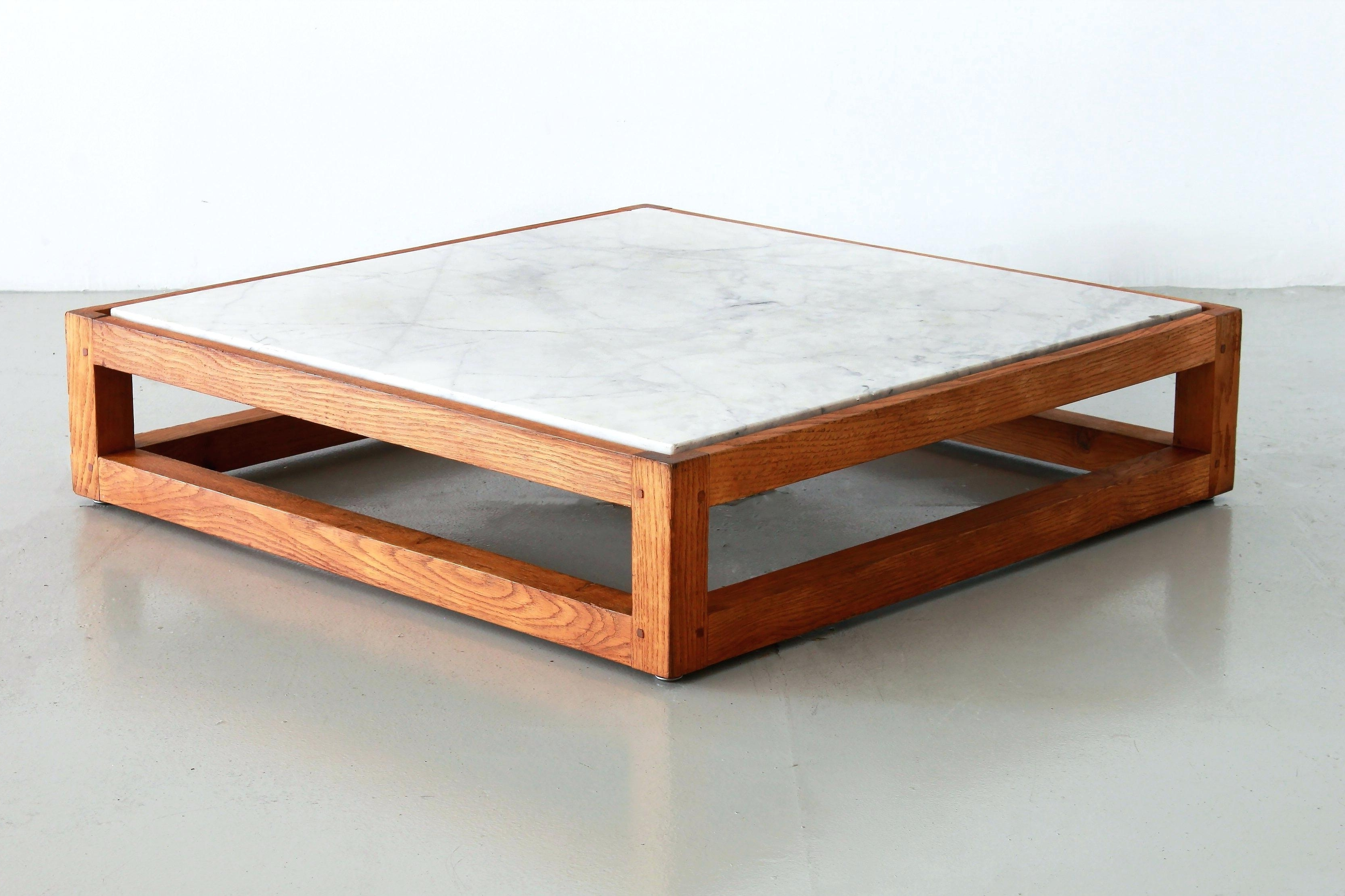 Modern Marble Coffee Table French And Oak Mid Century Top With Popular Mid Century Modern Marble Coffee Tables (View 12 of 20)