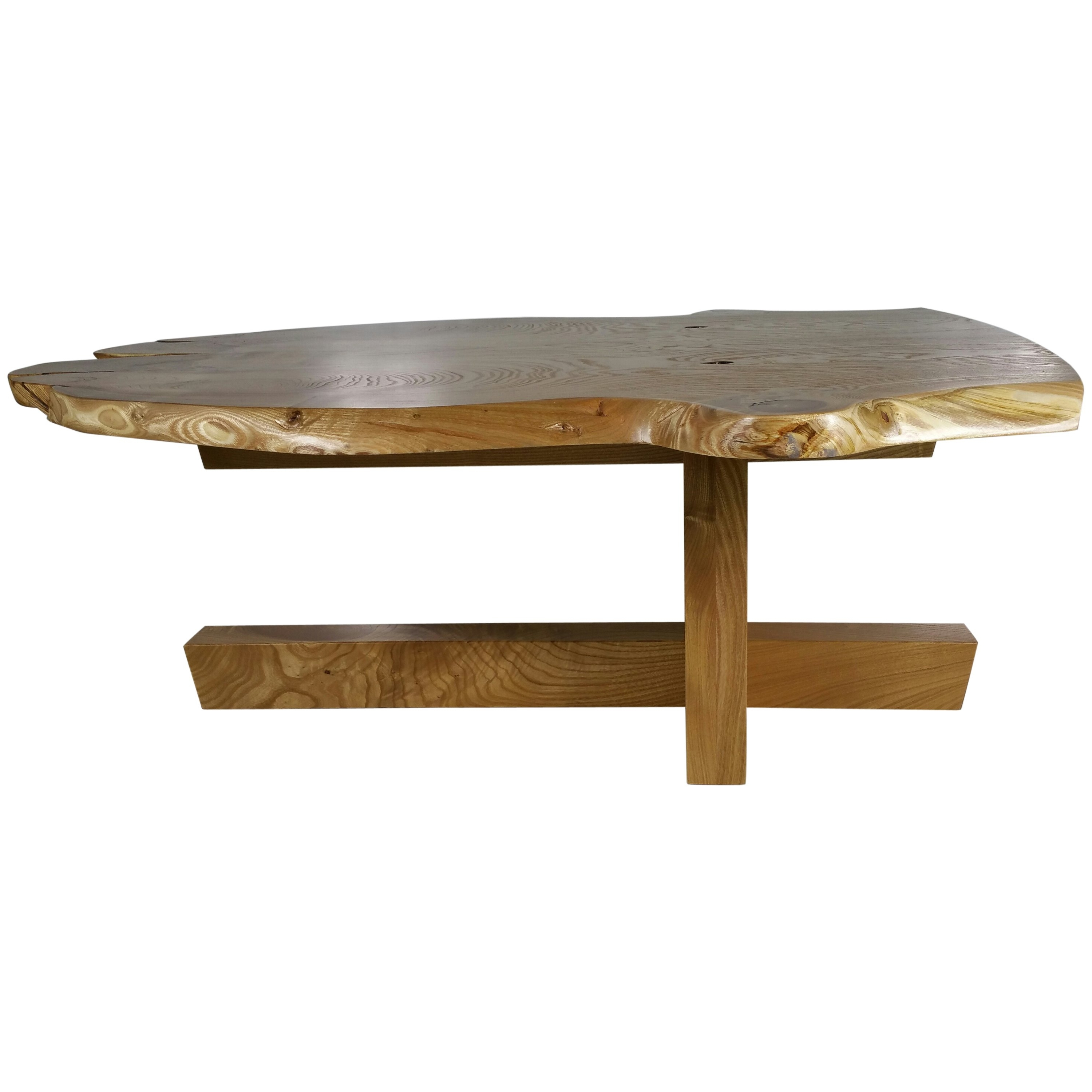Modernist Figured Catalpa Wood Coffee Tablegriff Logan For Sale Within Well Known Logan Cocktail Tables (View 14 of 20)