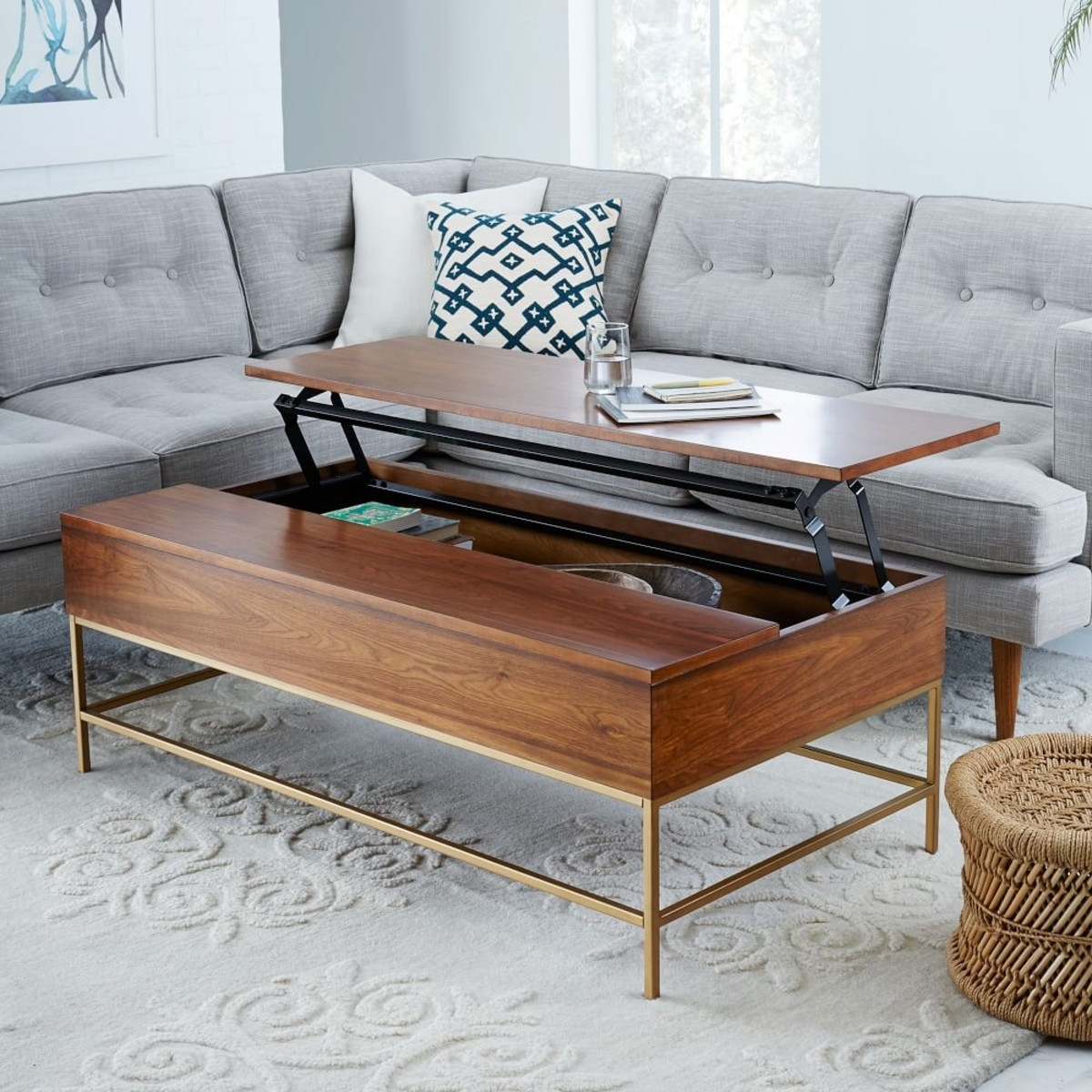 Most Current Cara Cocktail Tables Inside 8 Best Coffee Tables For Small Spaces (View 7 of 20)