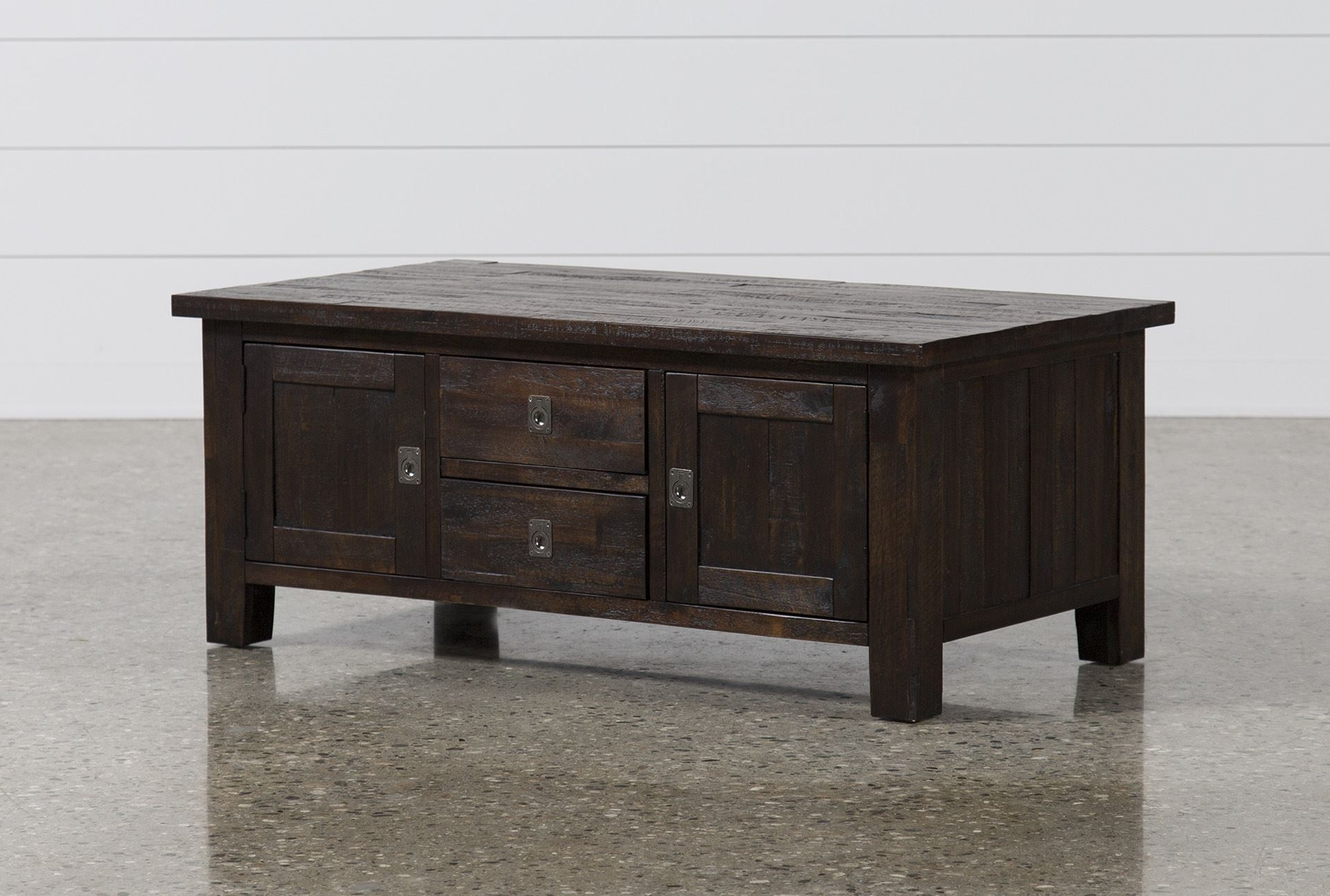 Most Current Cody Expandable Cocktail Tables Within Palmer Storage Cocktail Table, Brown, Coffee Tables (View 5 of 20)