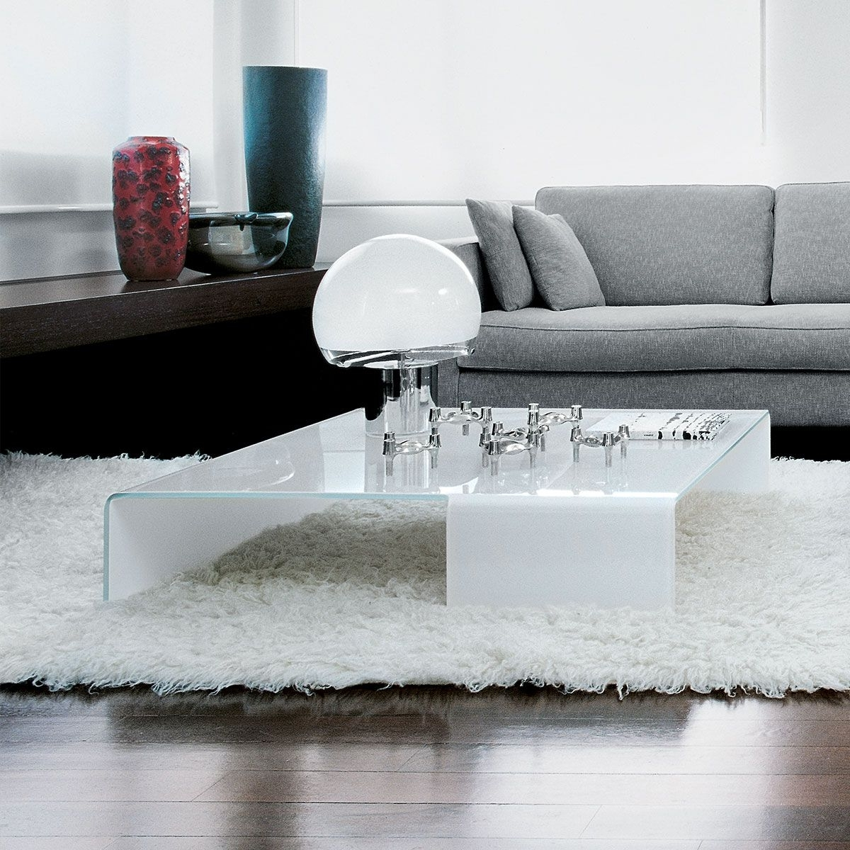 Most Current Contemporary Curves Coffee Tables Intended For Spider Curved Glass Coffee Tablesovet Italia (View 11 of 20)