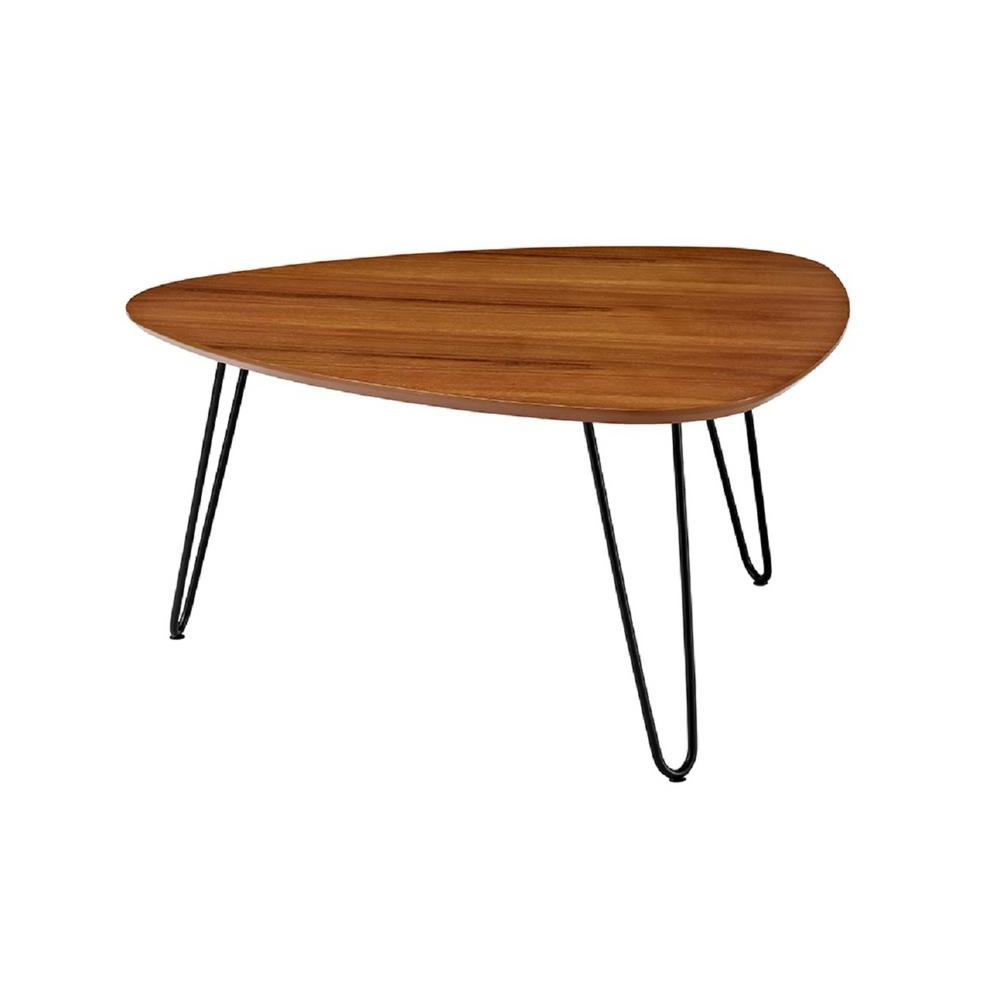 Most Current Intertwine Triangle Marble Coffee Tables In Walker Edison Furniture Company 32 In (View 11 of 20)