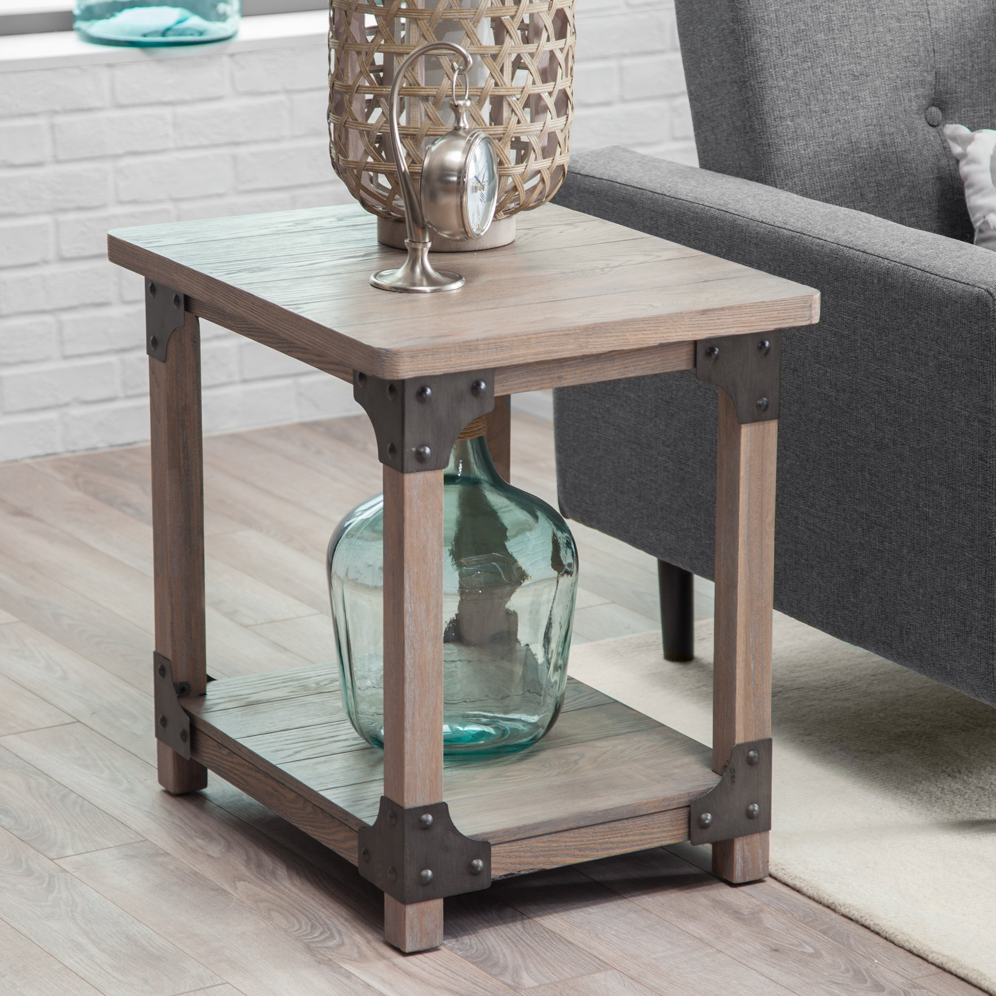 Most Current Modern Rustic Coffee Tables Intended For Home Design Ideas Extraordinary Belham Living Jamestown Rustic (View 9 of 20)