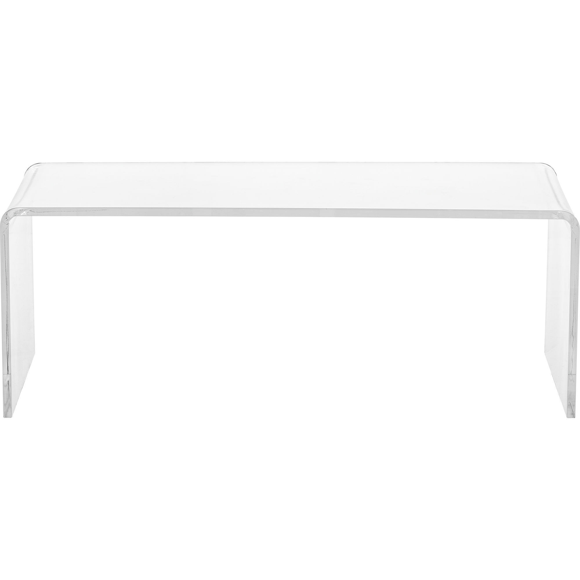 Most Current Peekaboo Acrylic Coffee Tables For Shop Clear Acrylic Coffee Table – On Sale – Free Shipping Today (View 20 of 20)