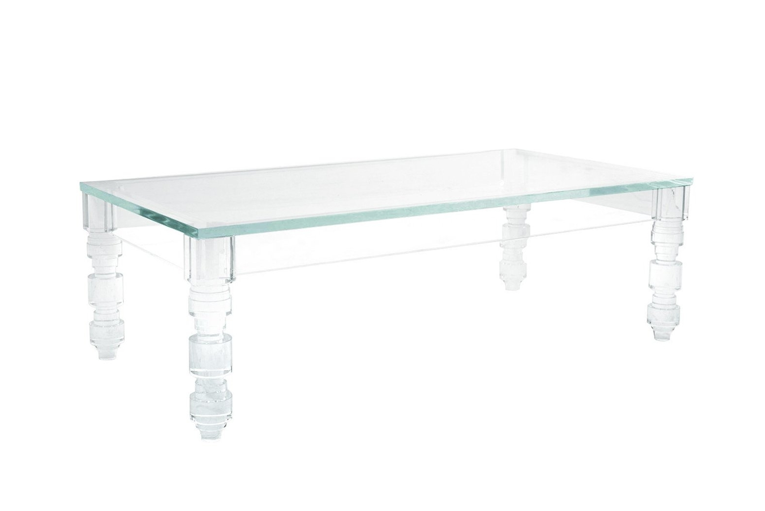 Most Current Peekaboo Acrylic Coffee Tables Pertaining To Lucite Coffee Table Brightens Your Interior – Darbylanefurniture (View 18 of 20)