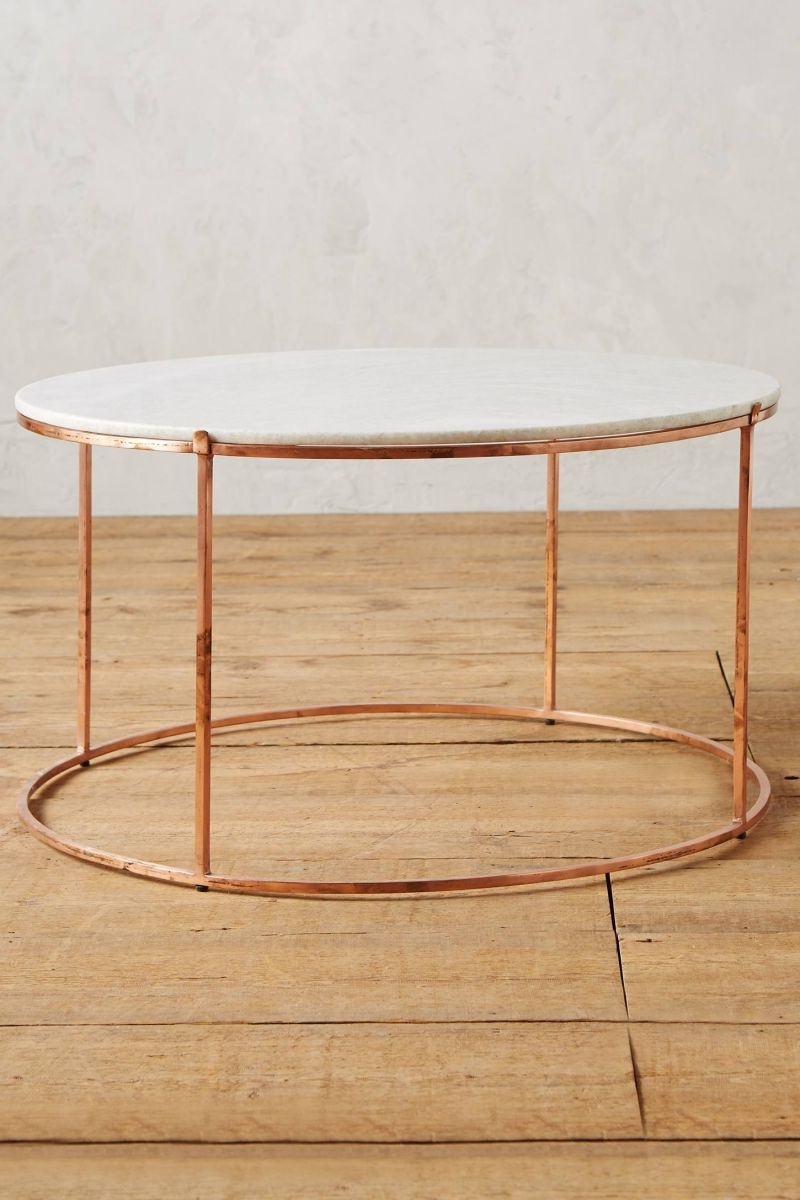 Most Current Shroom Coffee Tables Pertaining To 12 Round Coffee Tables We Love – The Everygirl (View 11 of 20)