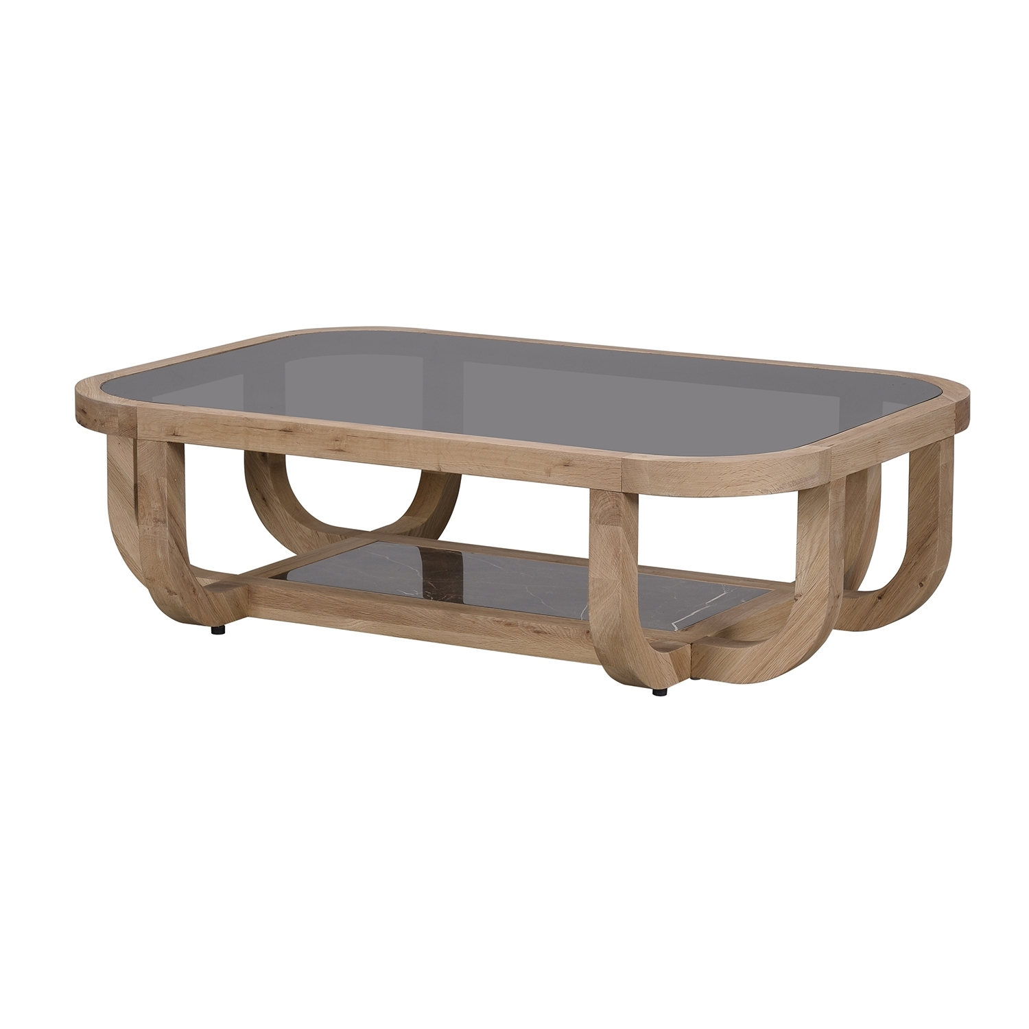Most Current Smoked Oak Coffee Tables Regarding Bleu Nature Bowood Coffee Table – F (View 11 of 20)