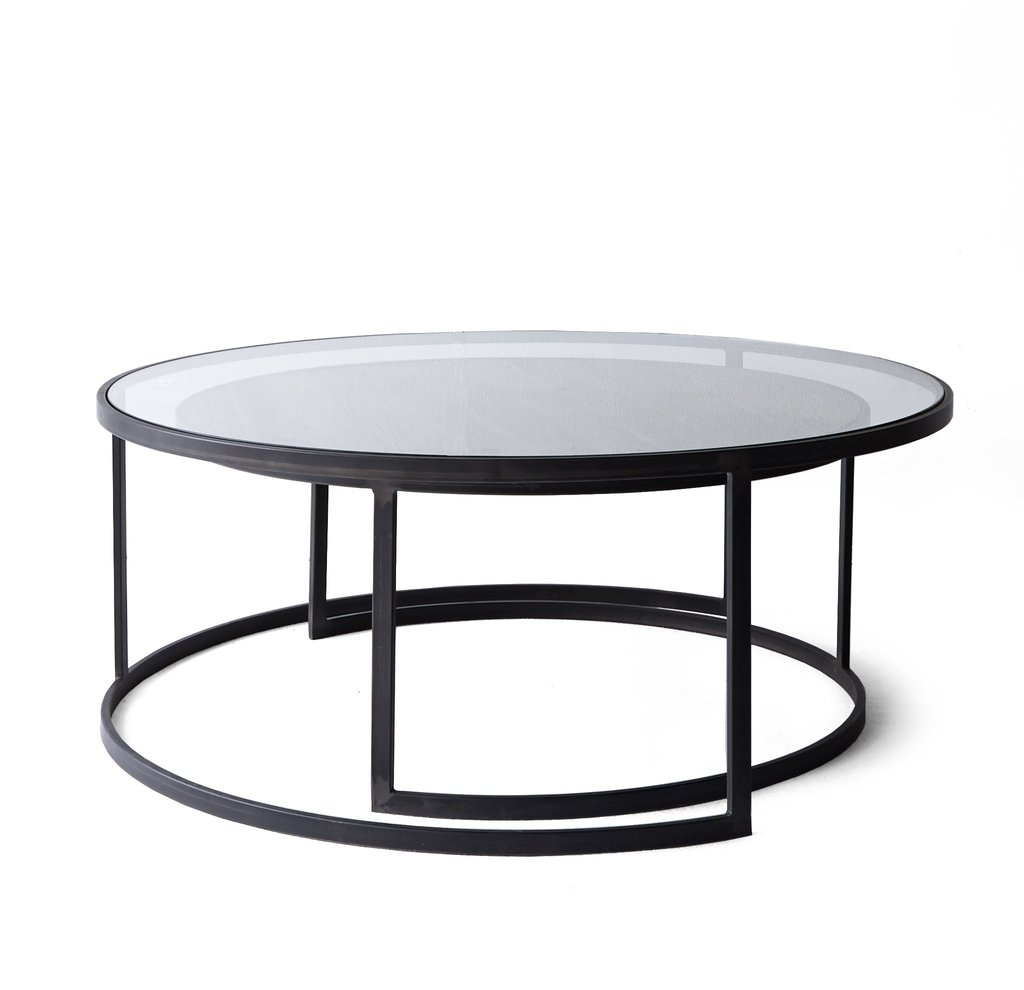 Most Current Torrin Round Cocktail Tables Throughout Black Round Coffee Table Sets 3 Piece Coffee Table Sets Under: Black (View 15 of 20)