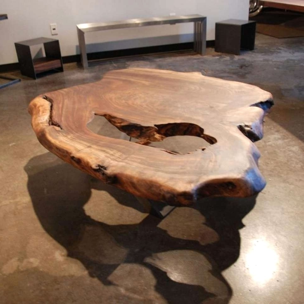 Most Current Tree Trunk Coffee Table With Tables Wood Slice Awesome Intended For 2018 Sliced Trunk Coffee Tables (View 11 of 20)