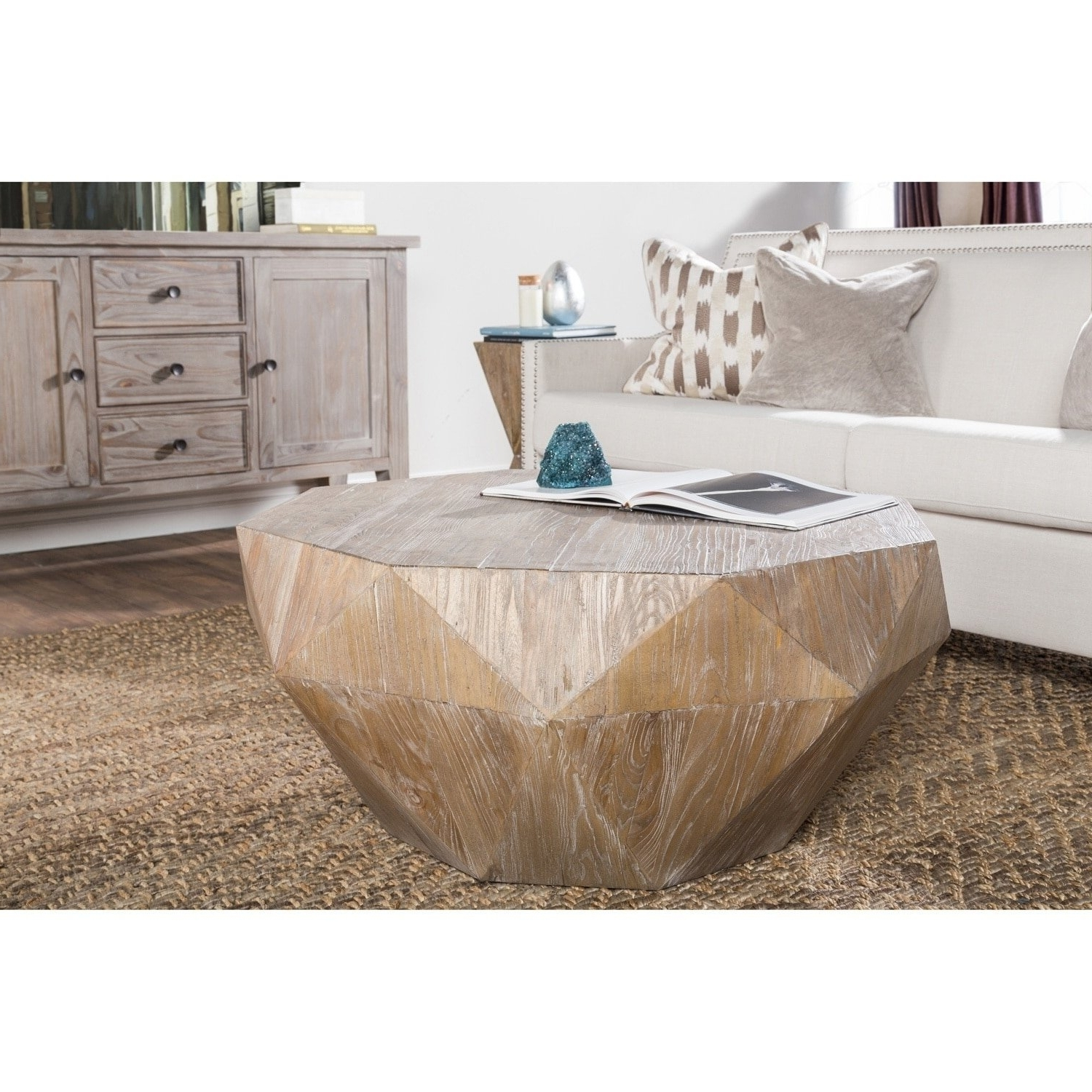 Most Popular Casablanca Coffee Tables With Shop Casablanca Natural Reclaimed Wood Coffee Tablekosas Home (View 10 of 20)