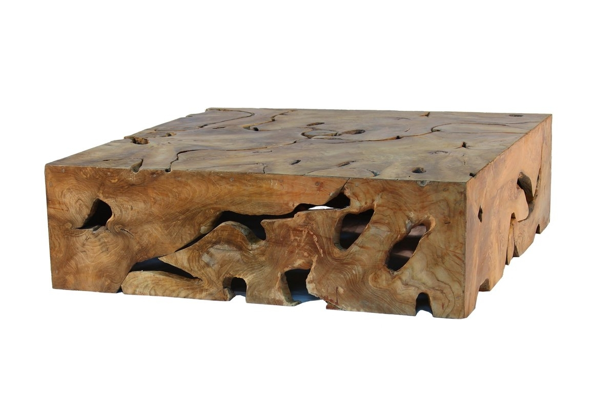 Most Popular Live Edge Teak Coffee Tables With Regard To Teak Coffee Tables You'll Love (View 15 of 20)