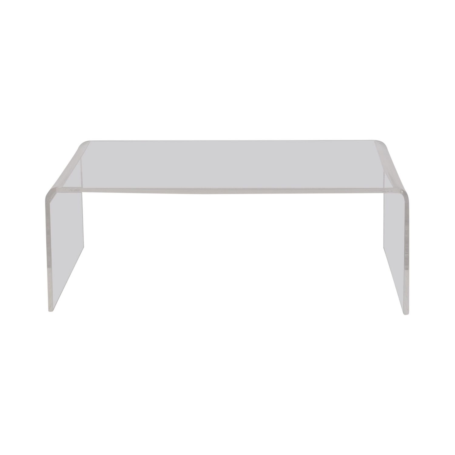 [%Most Popular Peekaboo Acrylic Coffee Tables Intended For 67% Off – Cb2 Cb2 Peekaboo Acrylic Coffee Table / Tables|67% Off – Cb2 Cb2 Peekaboo Acrylic Coffee Table / Tables For Well Liked Peekaboo Acrylic Coffee Tables%] (View 1 of 20)
