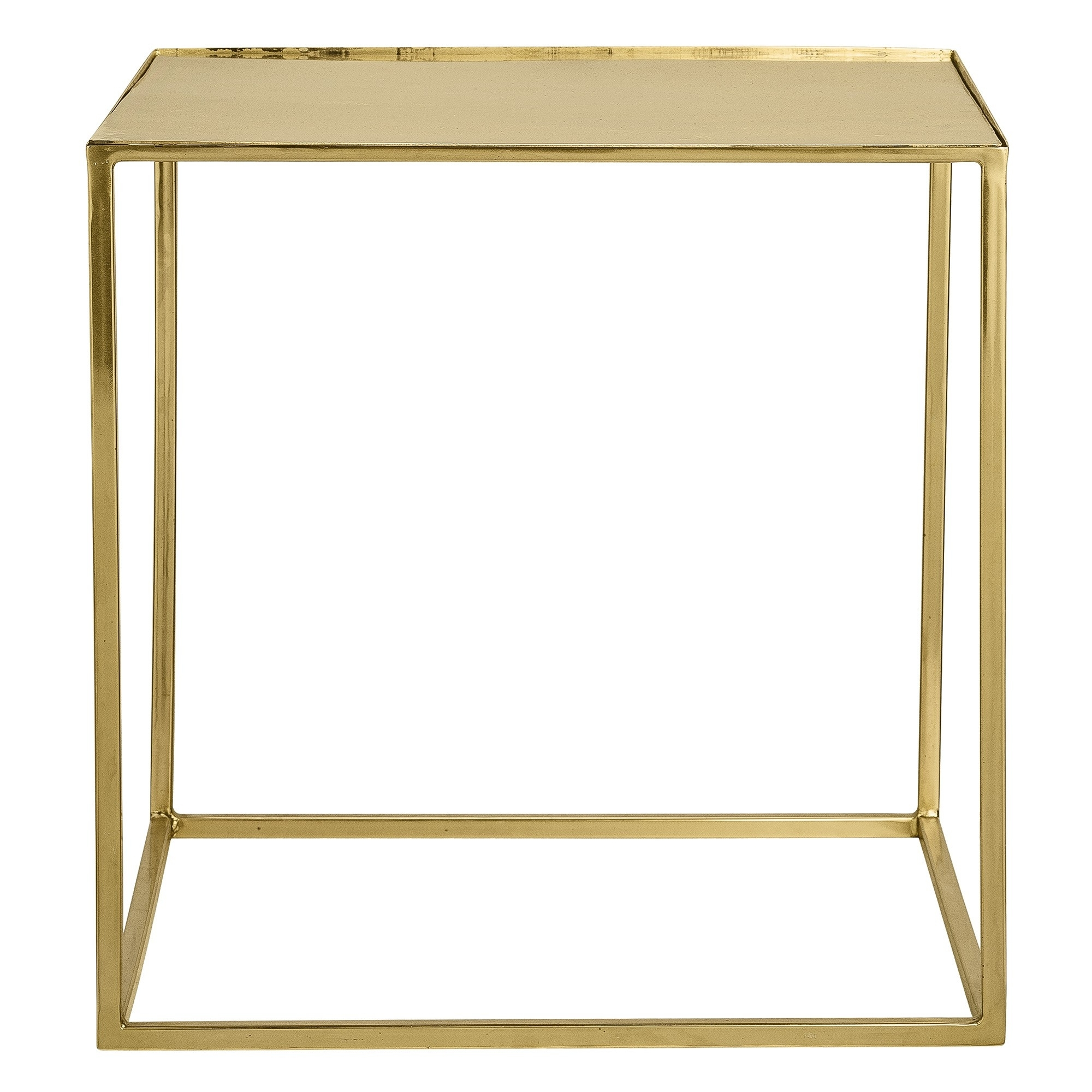 Most Popular Rectangular Brass Finish And Glass Coffee Tables Inside The Jane Side / Coffee Table – Gold Finish, Metal, Glass (View 3 of 20)