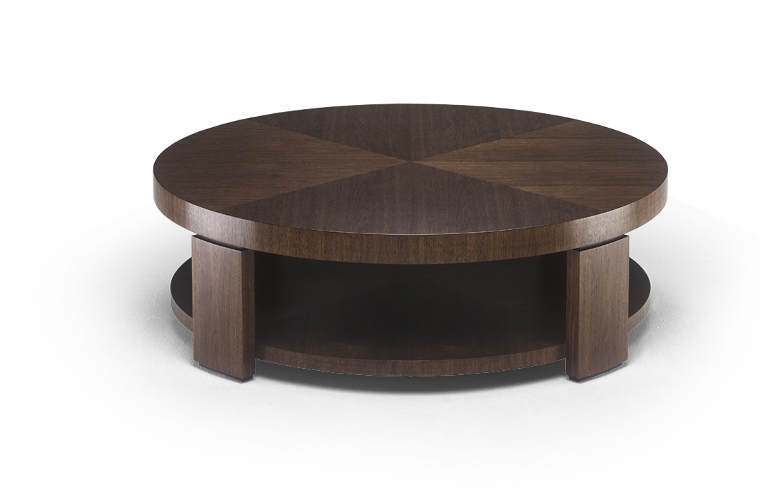 Most Popular Swell Round Coffee Tables Regarding Round Coffee Table – (View 4 of 20)