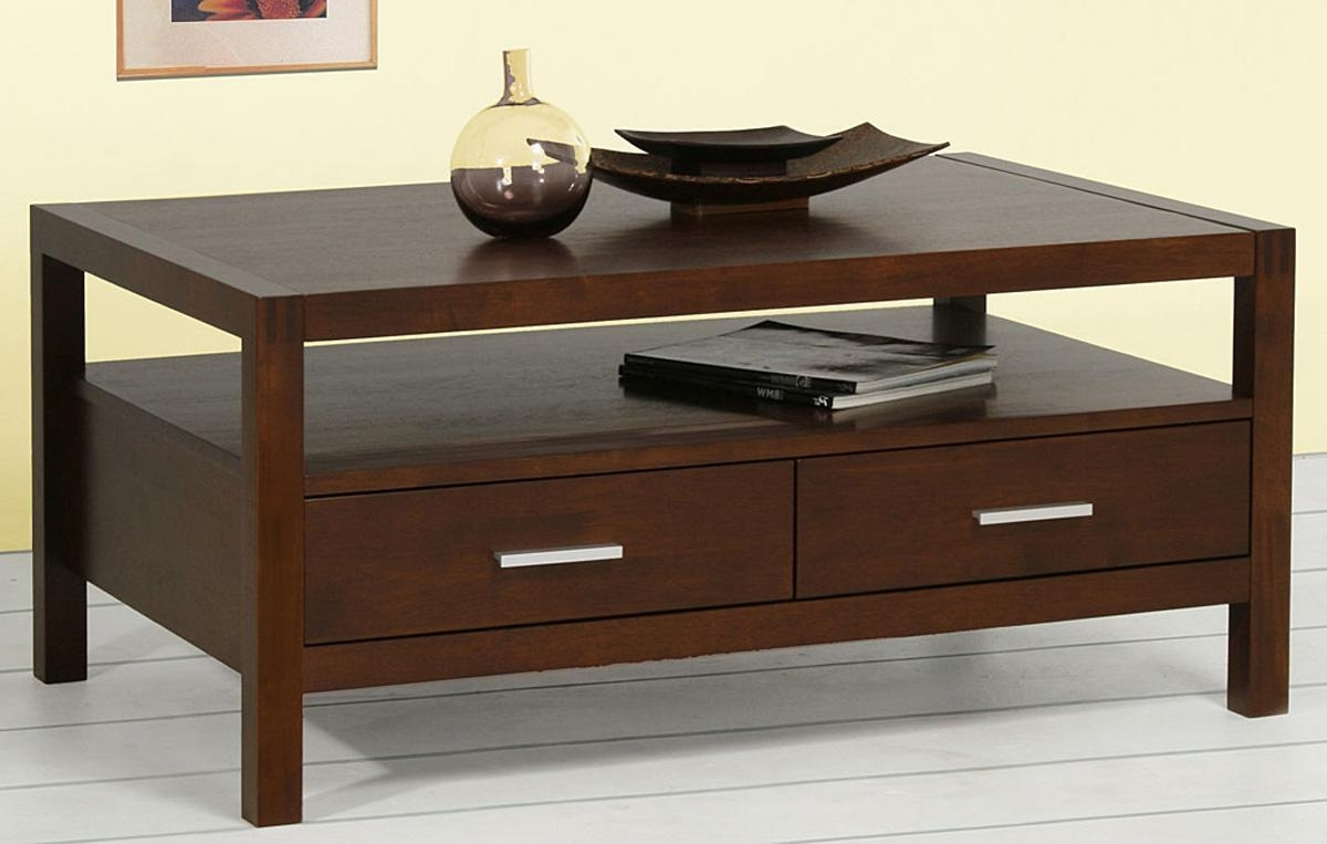 Most Popular Walnut 4 Drawer Coffee Tables Within Walnut Coffee Tables With Storage – Coffee Table Ideas (View 10 of 20)