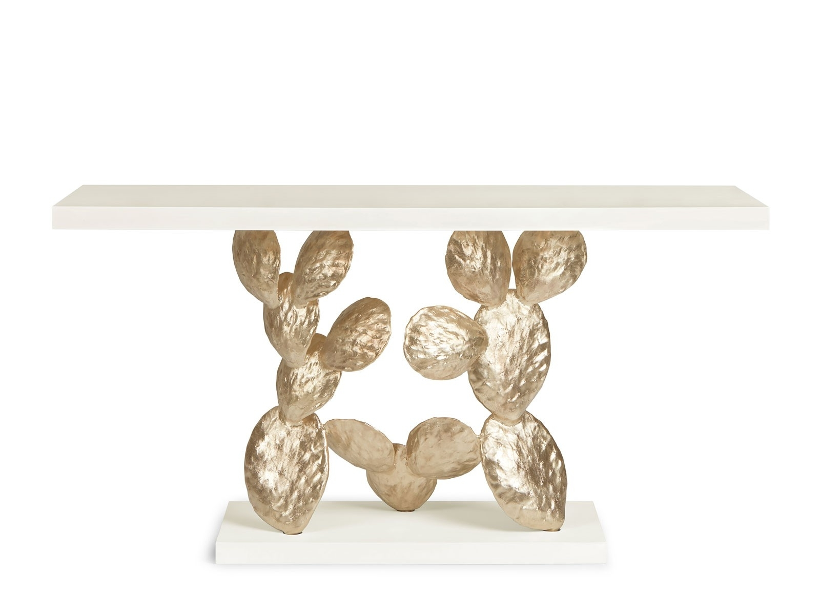 Most Recent Cacti Brass Coffee Tables In Cactus – Console – Ginger & Jagger (View 3 of 20)